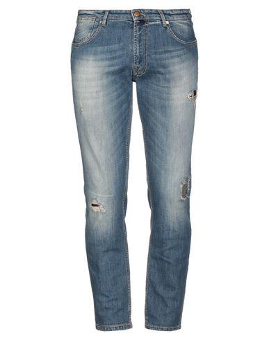 Купить Джинсовые брюки от BRIGLIA 1949 синего цвета