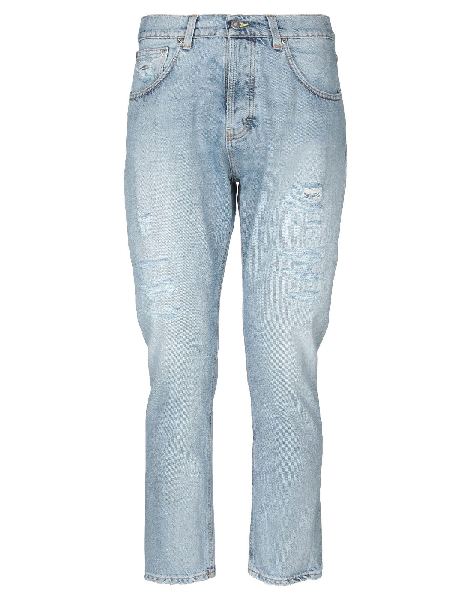 《送料無料》POETICA メンズ ジーンズ ブルー 32 コットン 100%