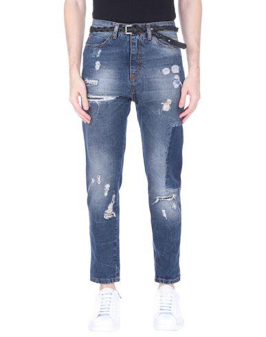 Фото - Джинсовые брюки от DISPLAJ синего цвета