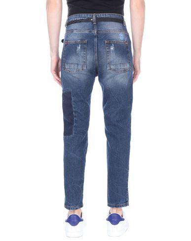 Фото 2 - Джинсовые брюки от DISPLAJ синего цвета