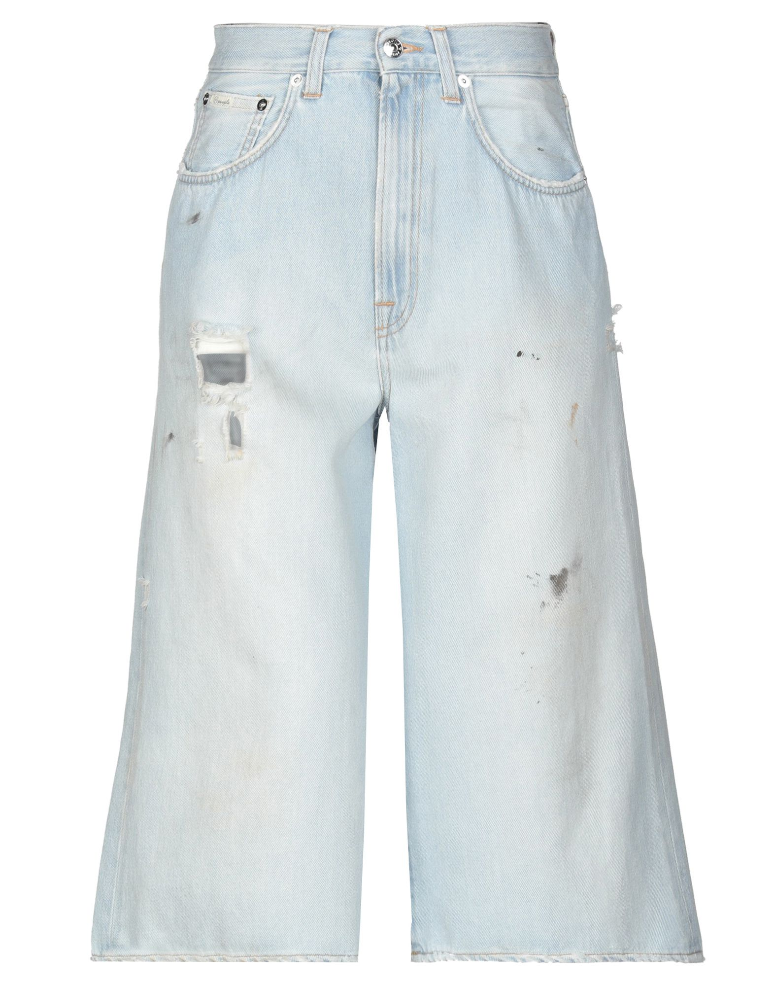 (+) PEOPLE Джинсовые брюки-капри people брюки капри