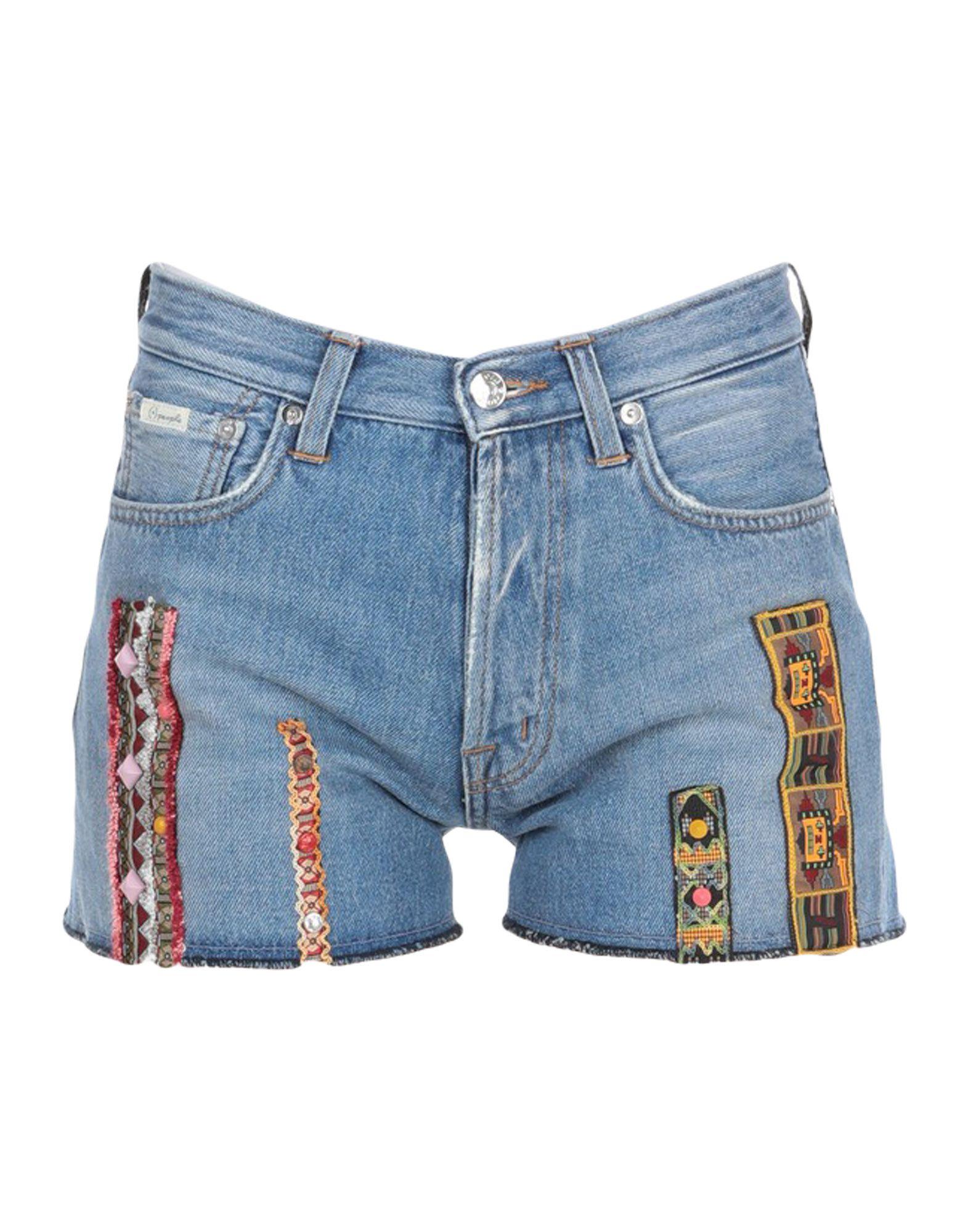 (+) PEOPLE Джинсовые шорты