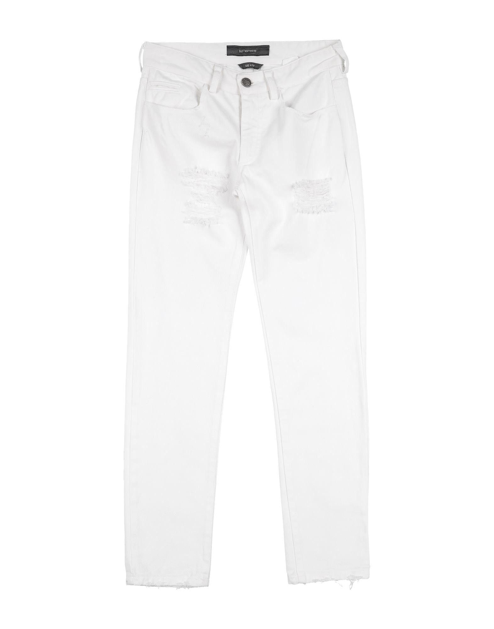 26.7 Twentysixseven Kids' Jeans In White