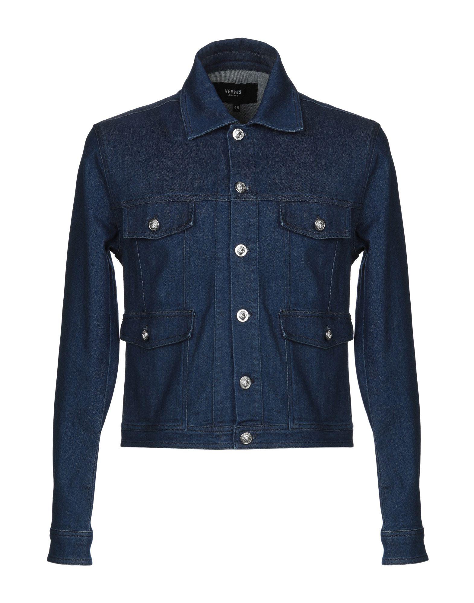 VERSUS VERSACE Джинсовая верхняя одежда versus versace джинсовая верхняя одежда
