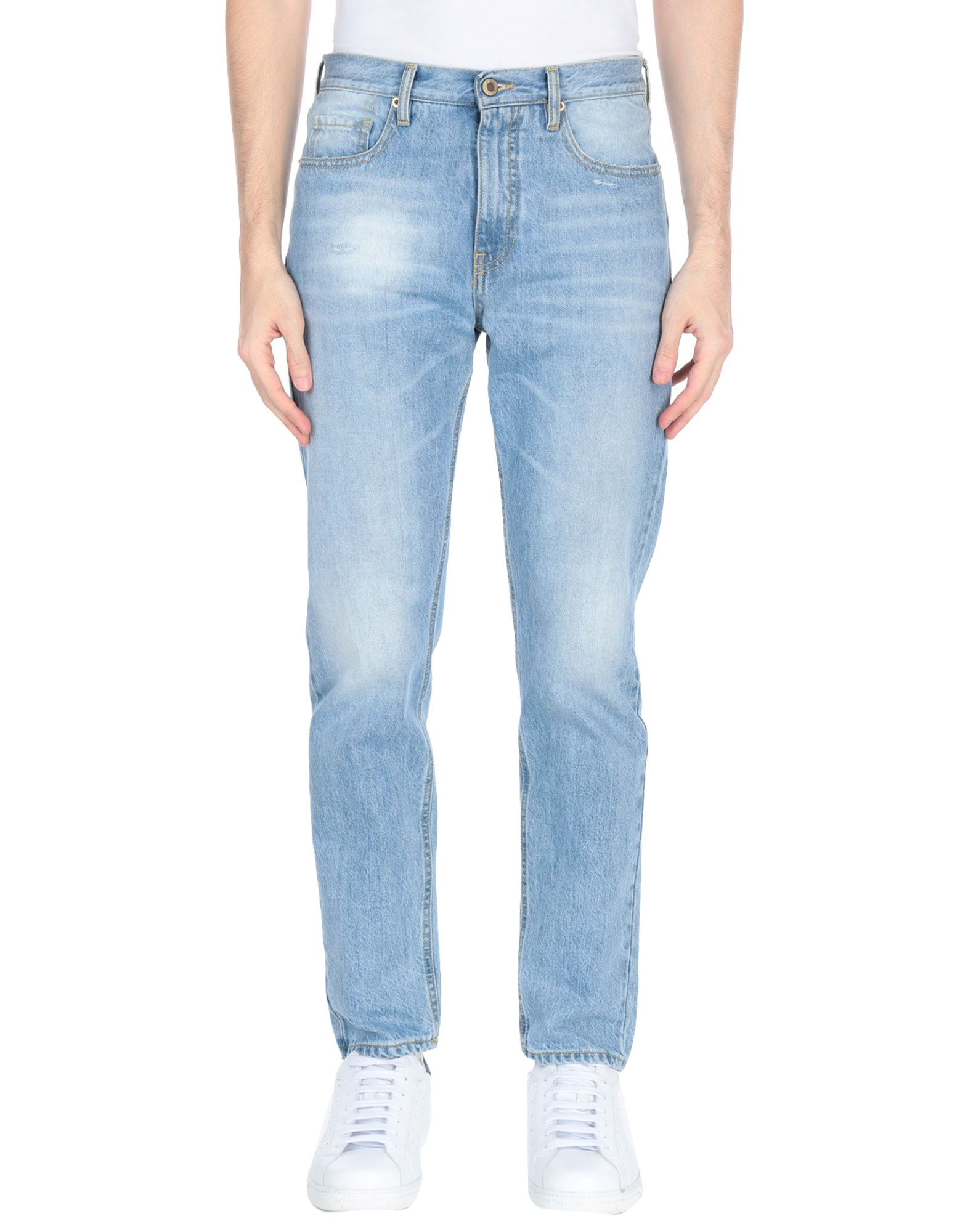 《送料無料》TRUE NYC. メンズ ジーンズ ブルー 27 コットン 100%