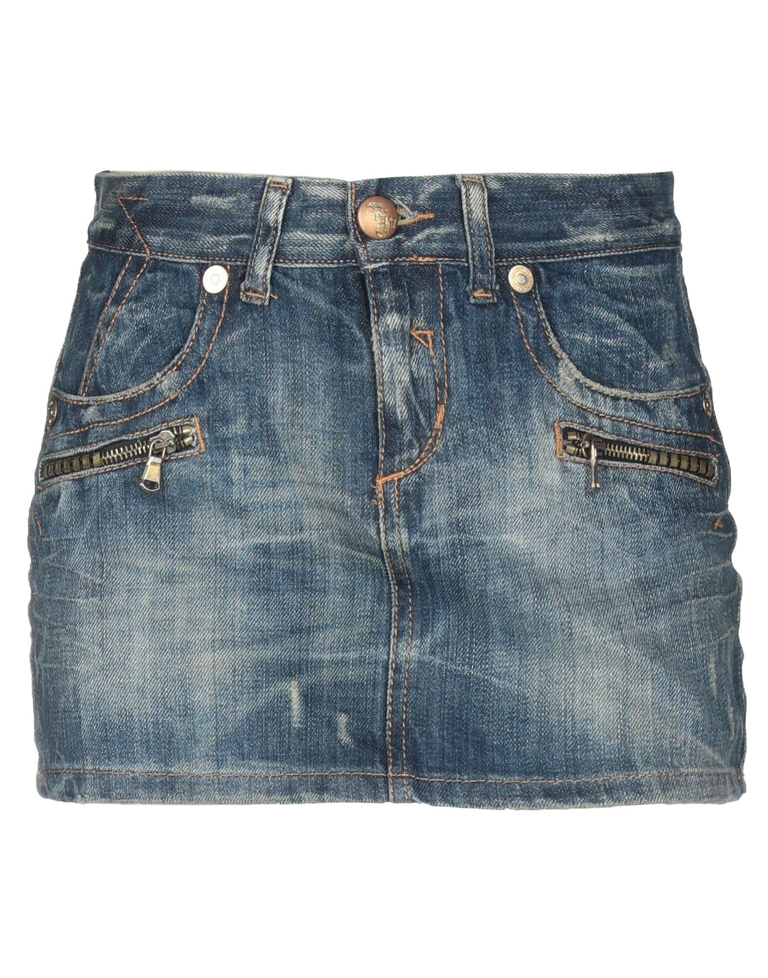 все цены на TAKE-TWO Джинсовая юбка онлайн