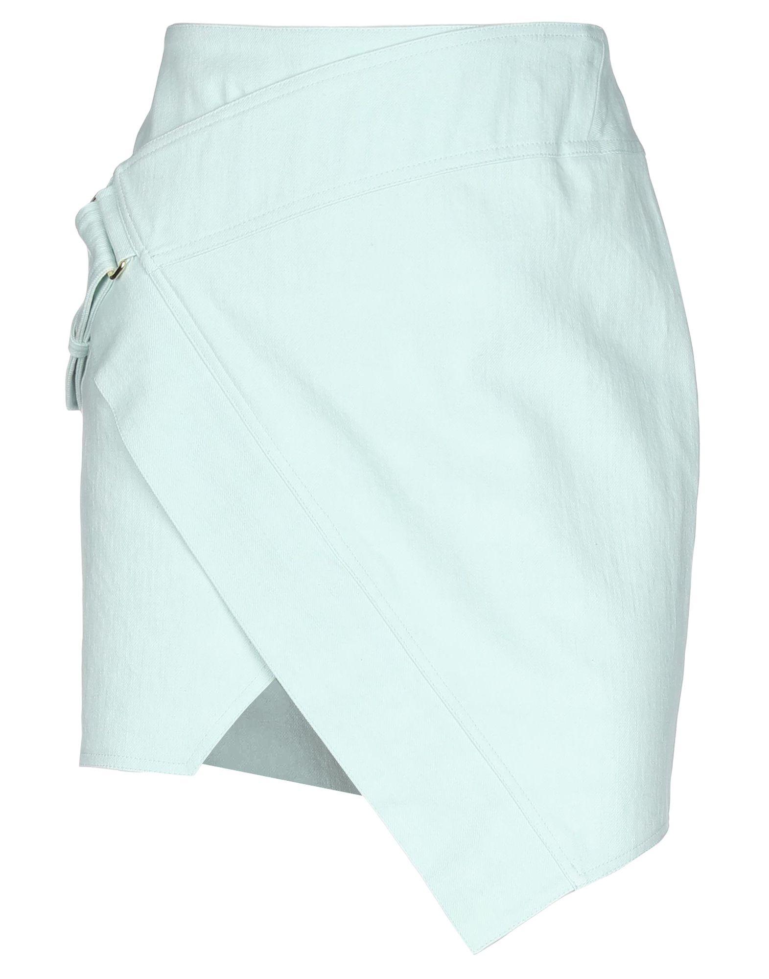 ALEXANDRE VAUTHIER Джинсовая юбка alexandre vauthier юбка до колена