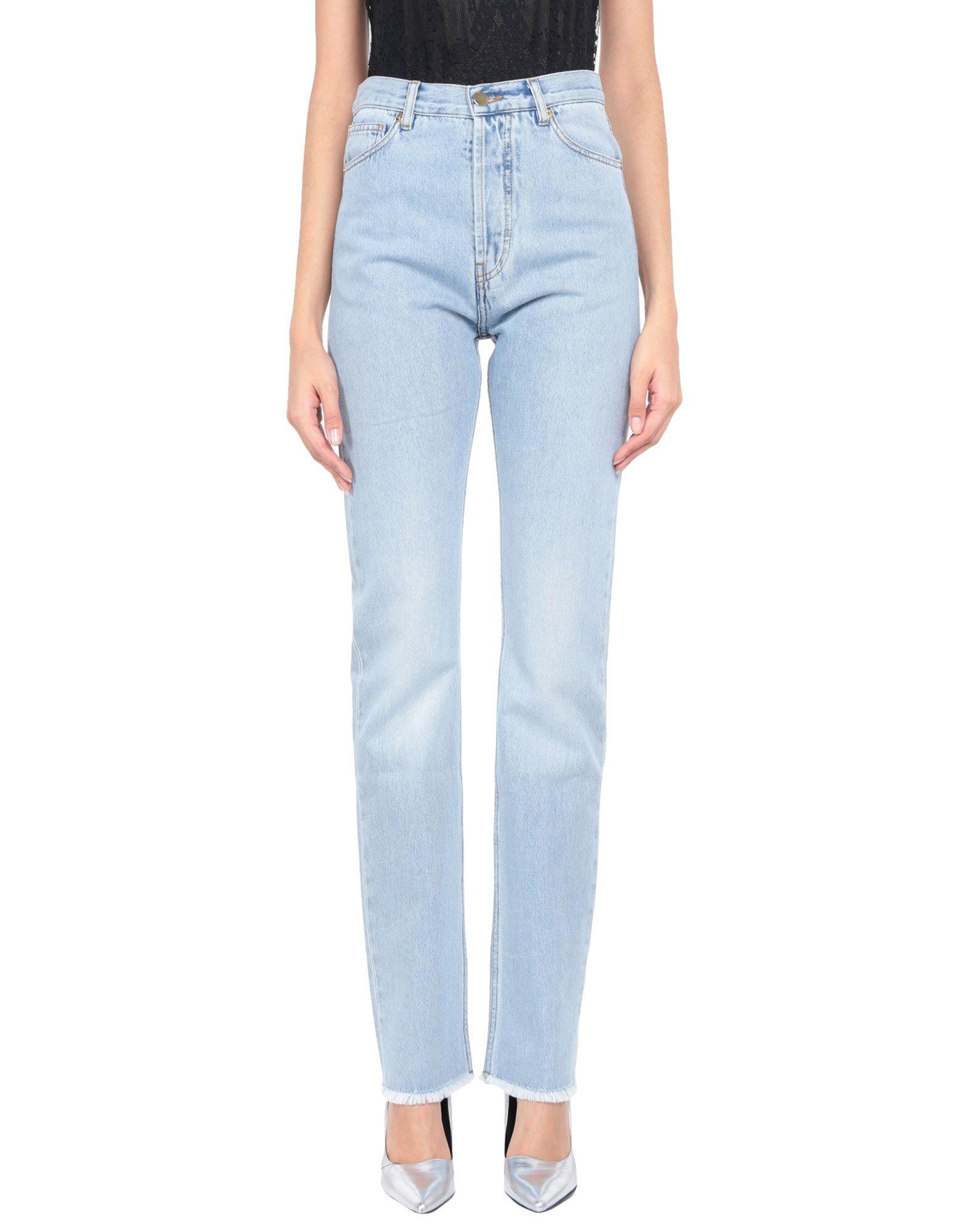 ALEXANDRE VAUTHIER Джинсовые брюки цены