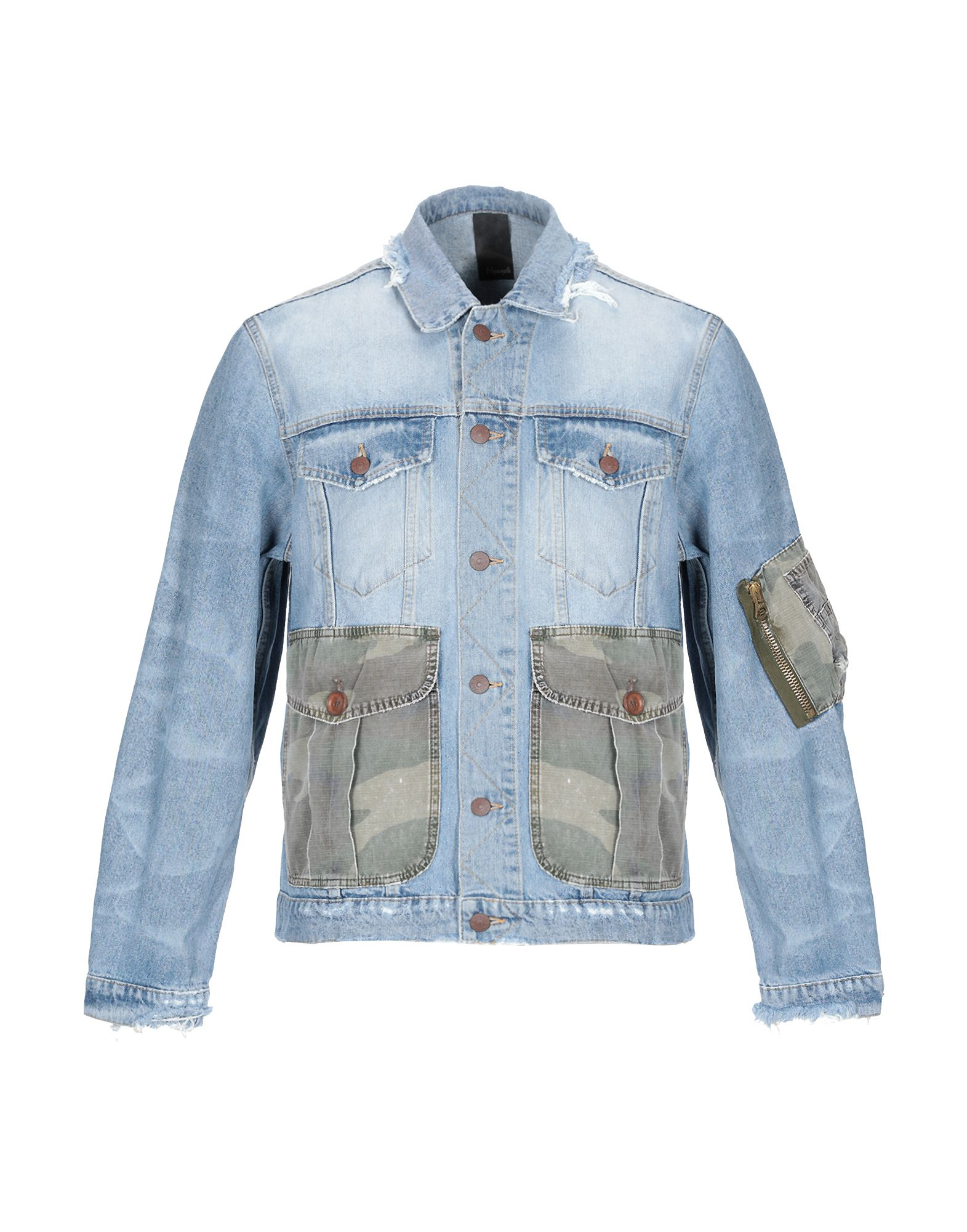 (+) PEOPLE Джинсовая верхняя одежда брендовая одежда
