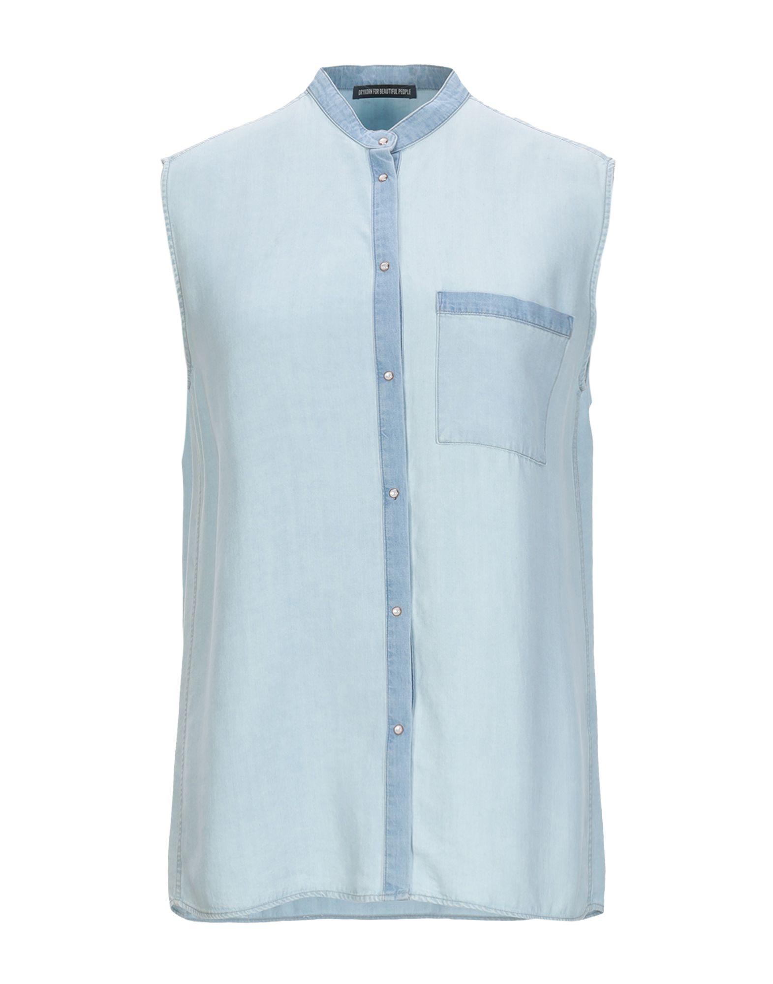 DRYKORN Джинсовая рубашка рубашка drykorn 306203 33