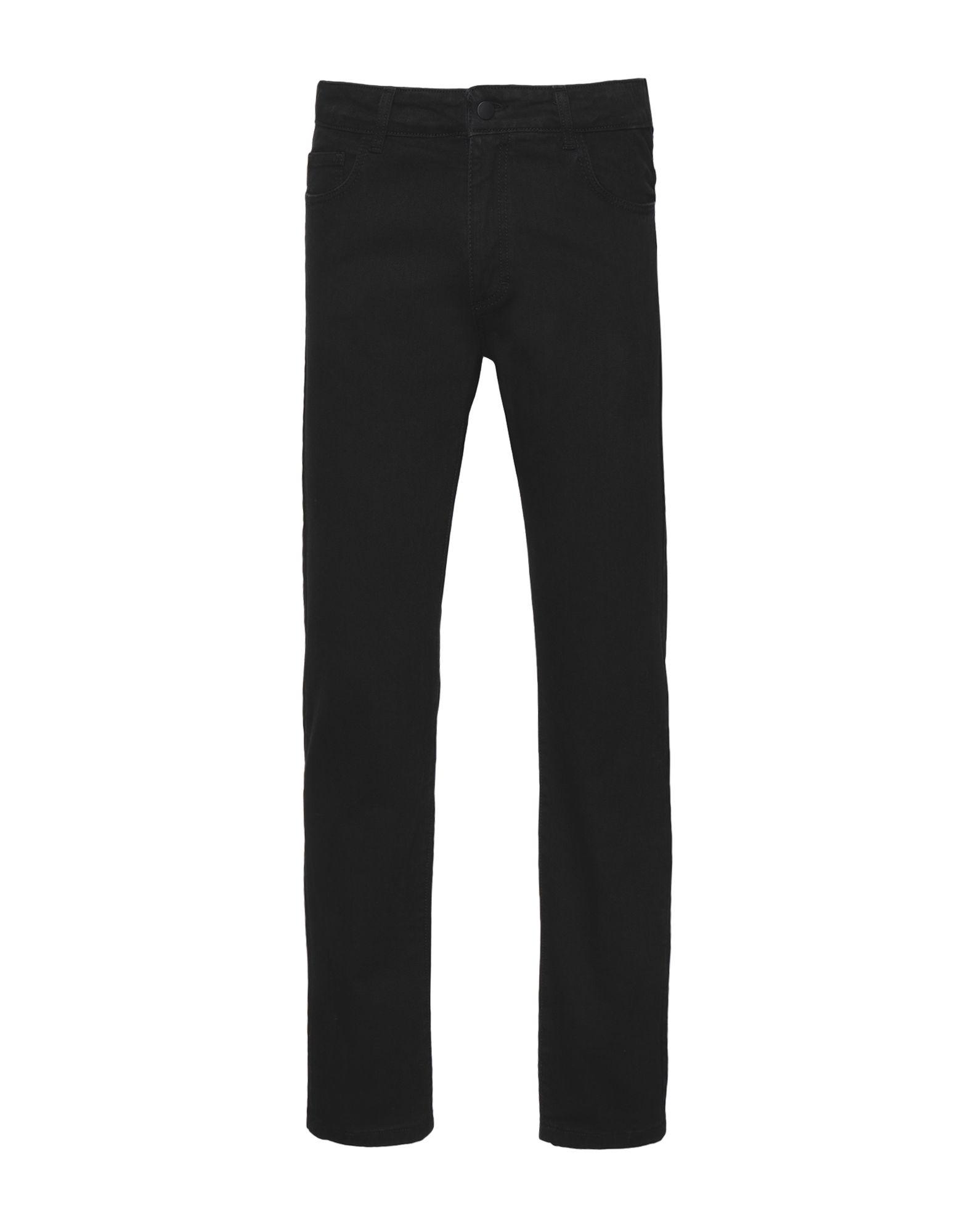 8 by YOOX Джинсовые брюки пальто из денима