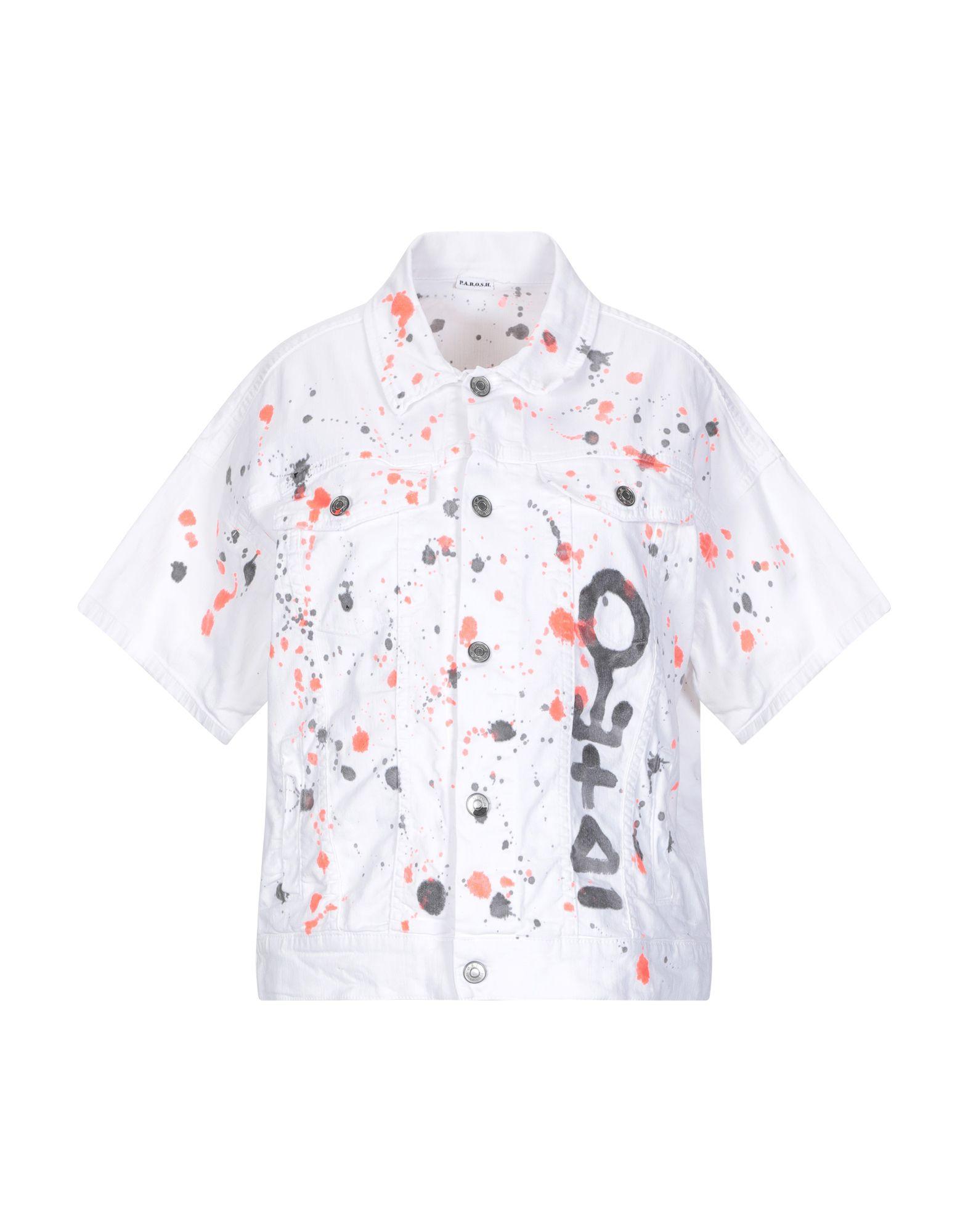цена на P.A.R.O.S.H. Джинсовая верхняя одежда
