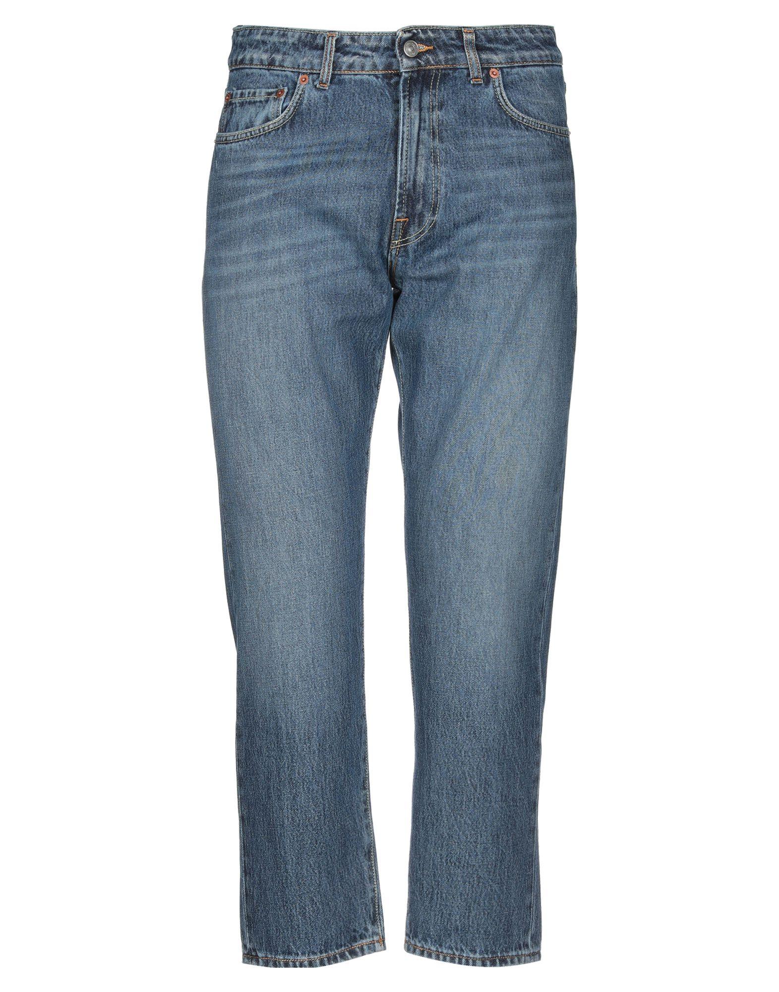 《セール開催中》BE ABLE メンズ デニムカプリパンツ ブルー 34 コットン 100%