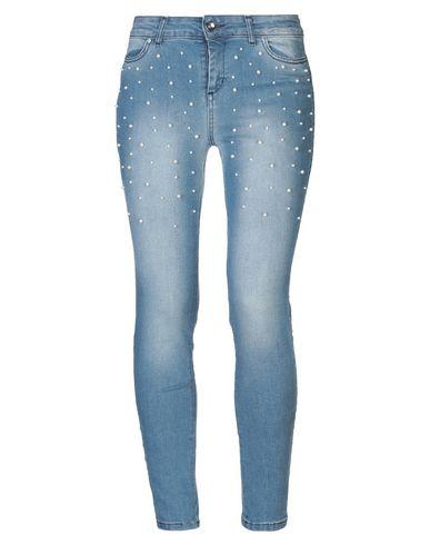 Фото - Джинсовые брюки от GRETHA Milano синего цвета