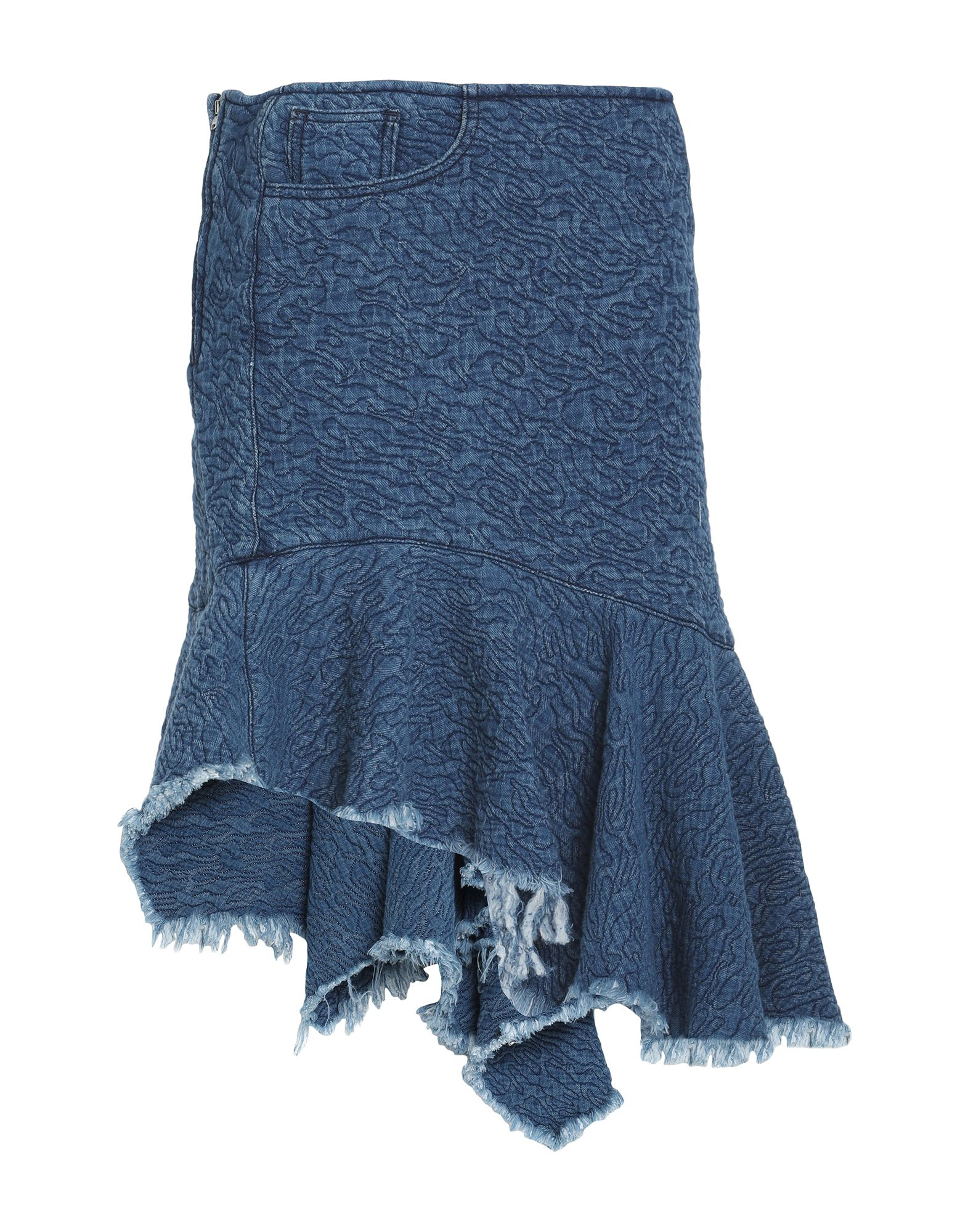 Фото - MARQUES' ALMEIDA Джинсовая юбка marques almeida джинсовая юбка