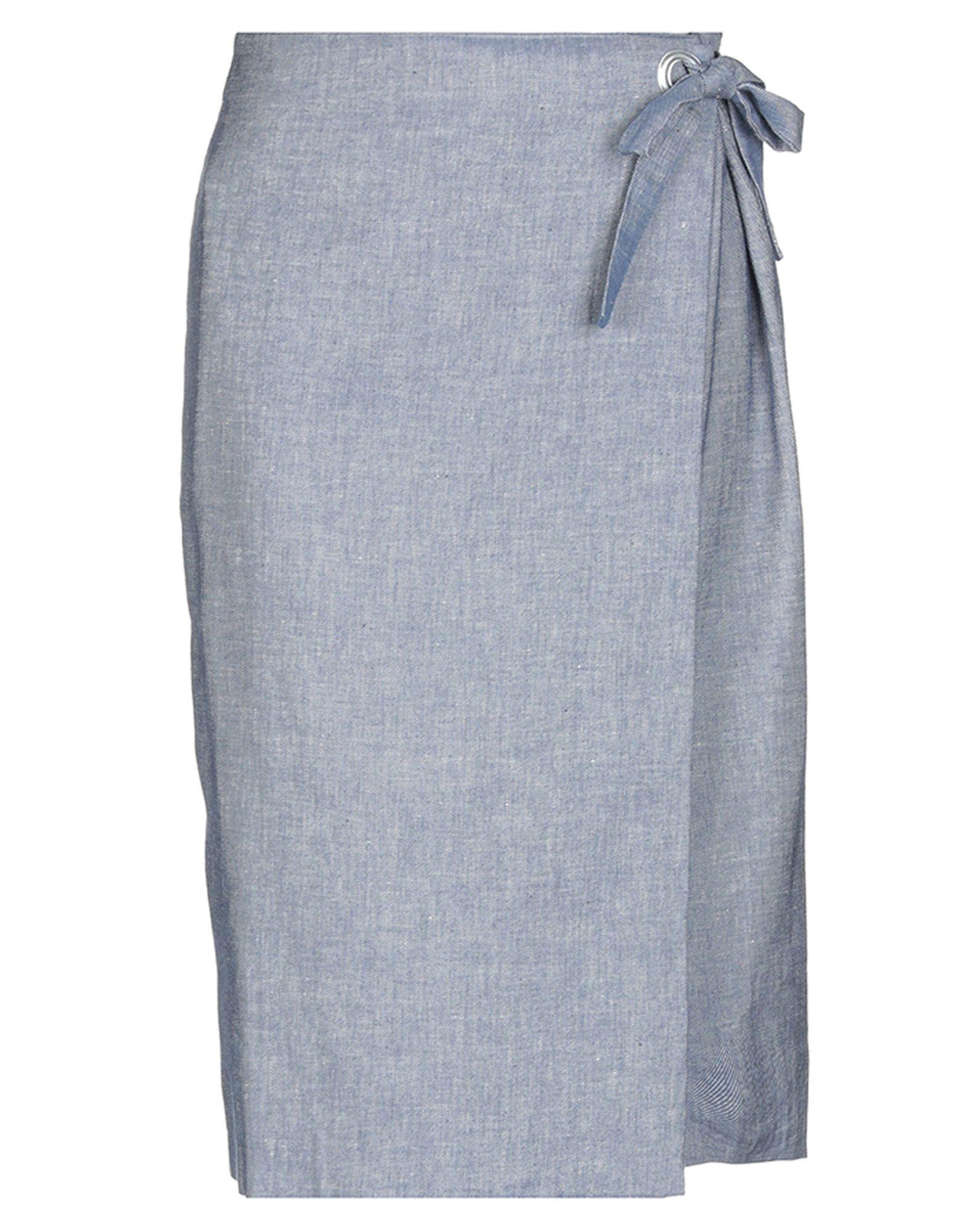 цены PAOLA PRATA Джинсовая юбка