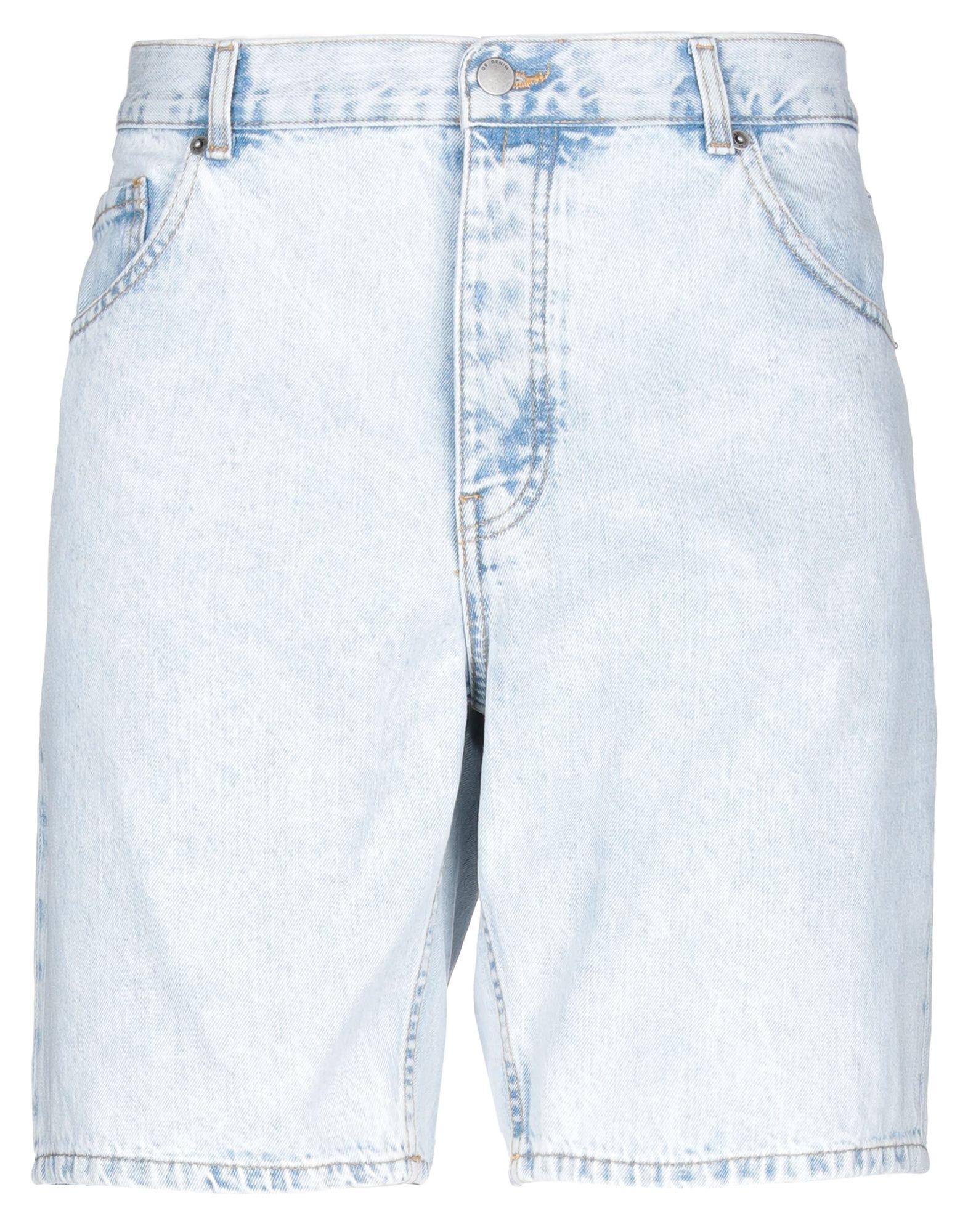 《期間限定セール中》DR. DENIM JEANSMAKERS メンズ デニムバミューダパンツ ブルー 29 コットン 100%