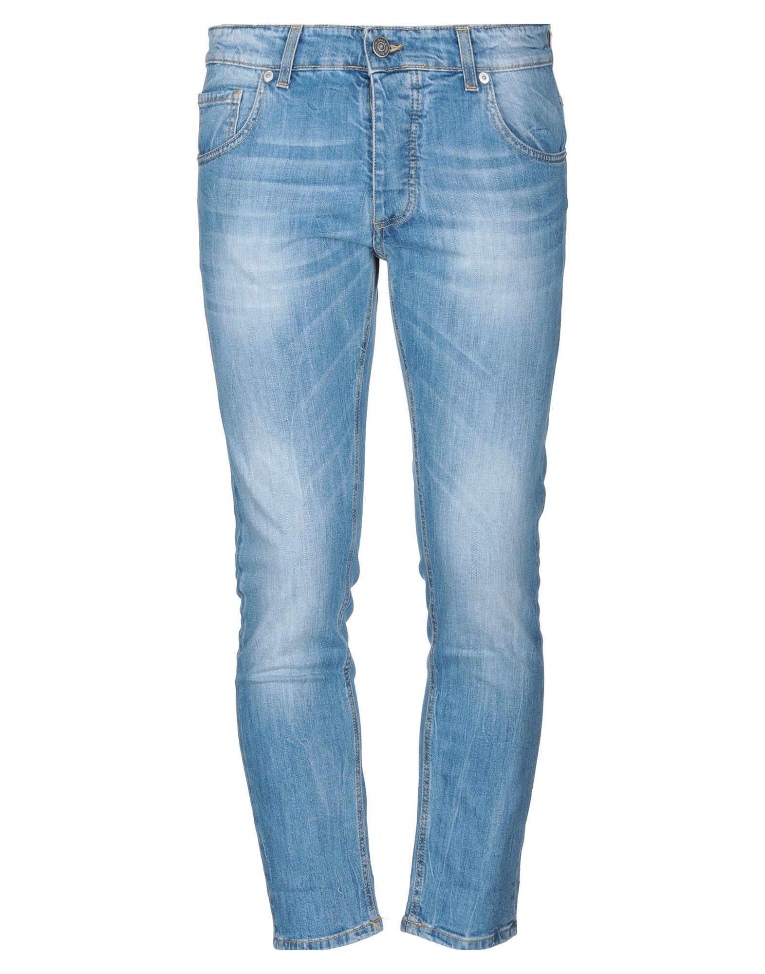 《セール開催中》V2? LIVING CLOTHING メンズ ジーンズ ブルー 32 コットン 97% / ポリウレタン 3%