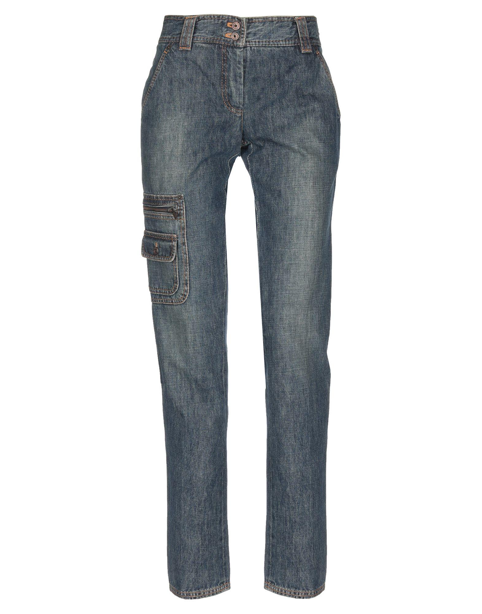 MOSCHINO CHEAP AND CHIC Джинсовые брюки