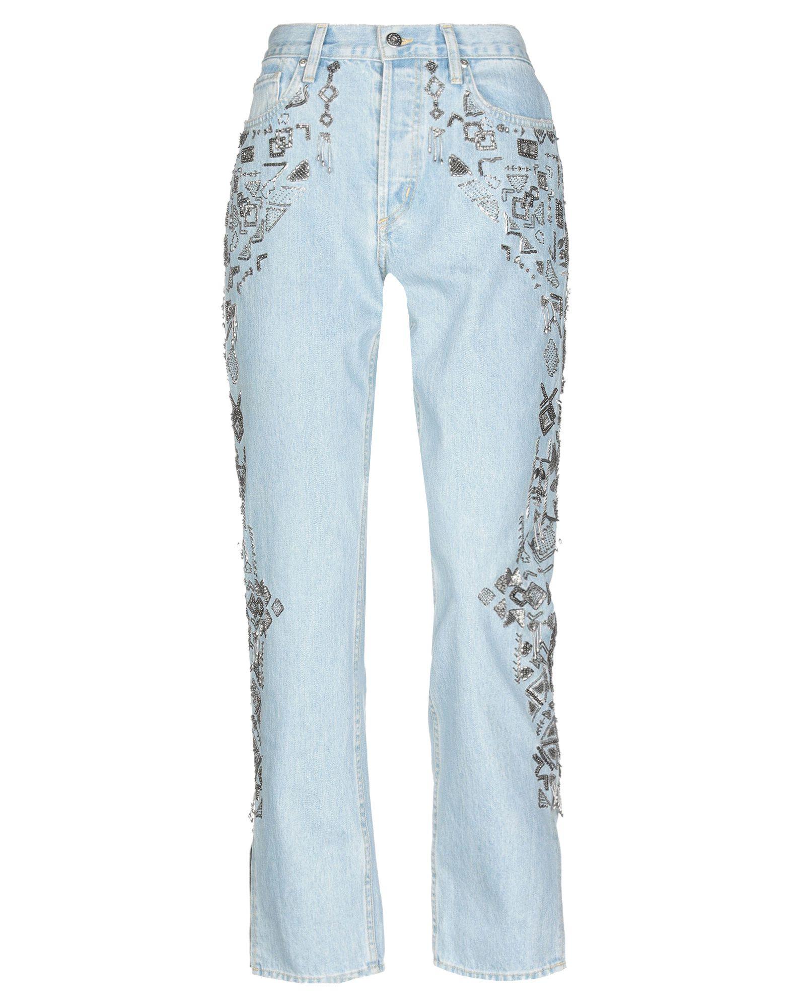 JONATHAN SIMKHAI Джинсовые брюки цена 2017