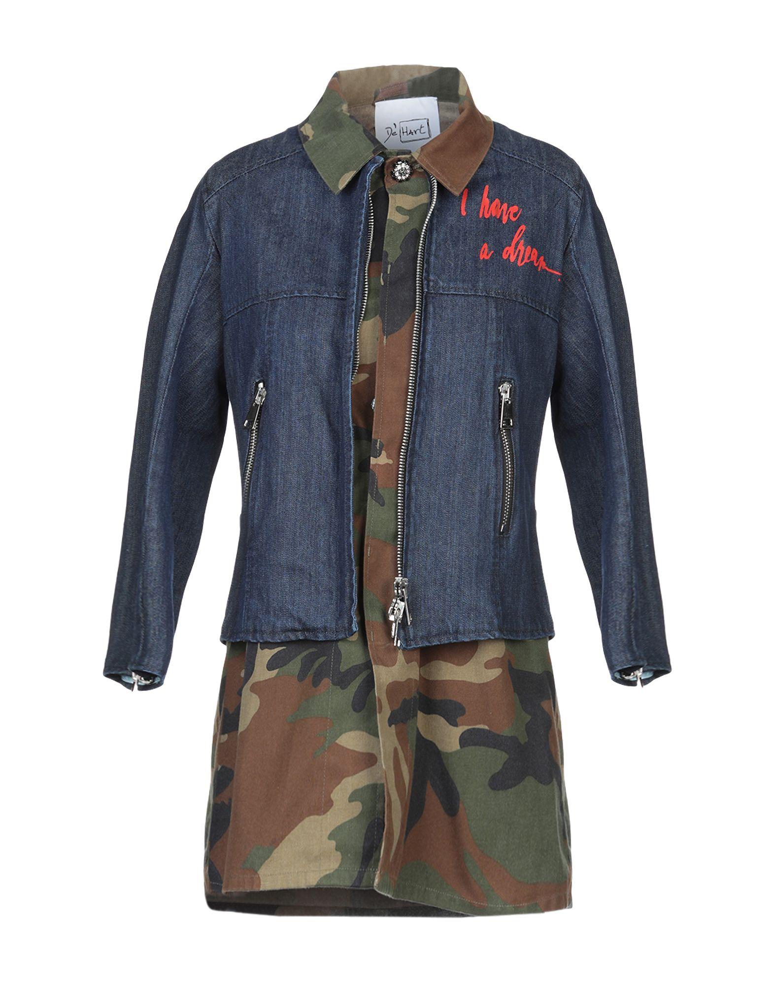 DE' HART Джинсовая верхняя одежда пальто de hart