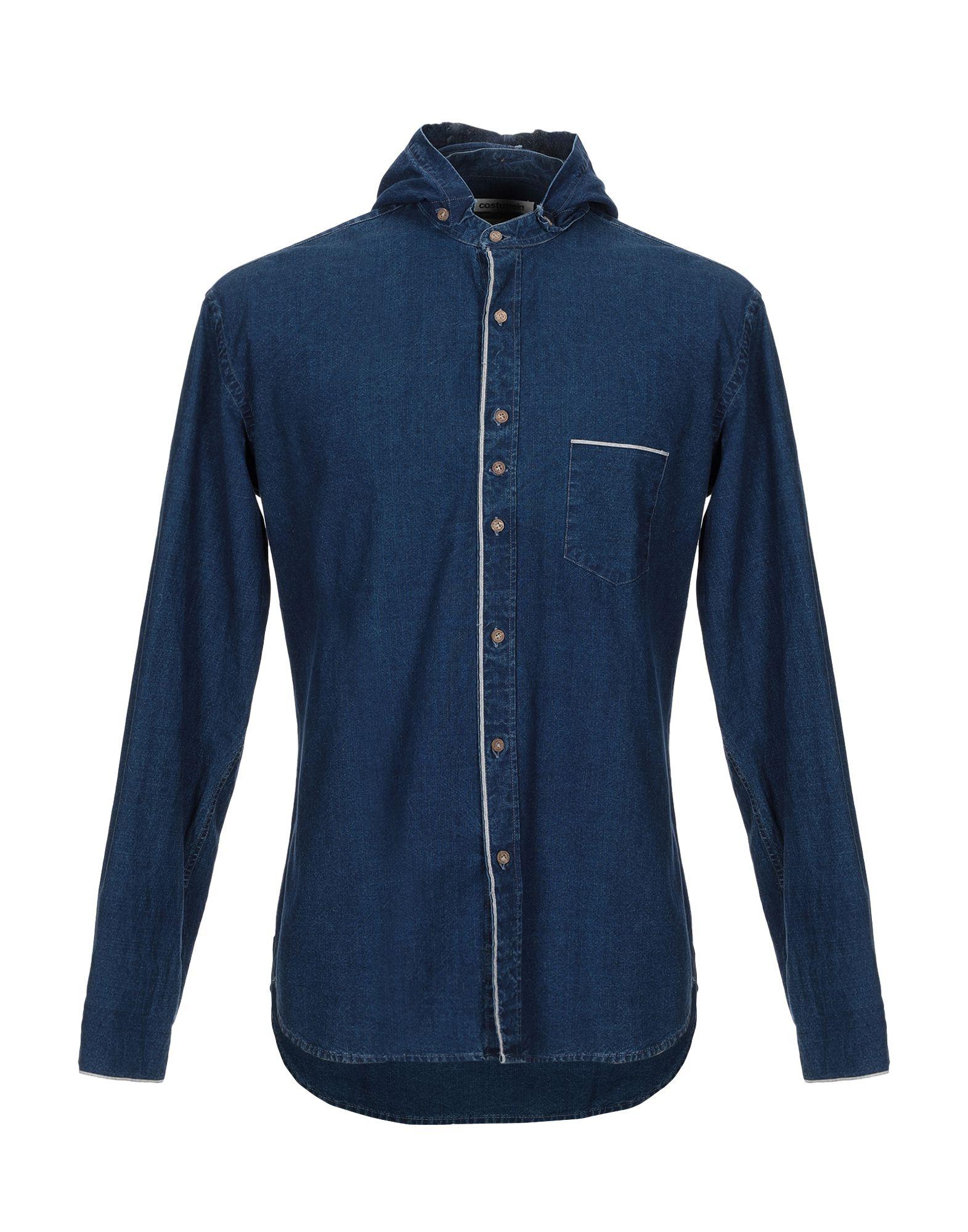 COSTUMEIN Джинсовая рубашка рубашка джинсовая с рисунком сердце 3 12 лет