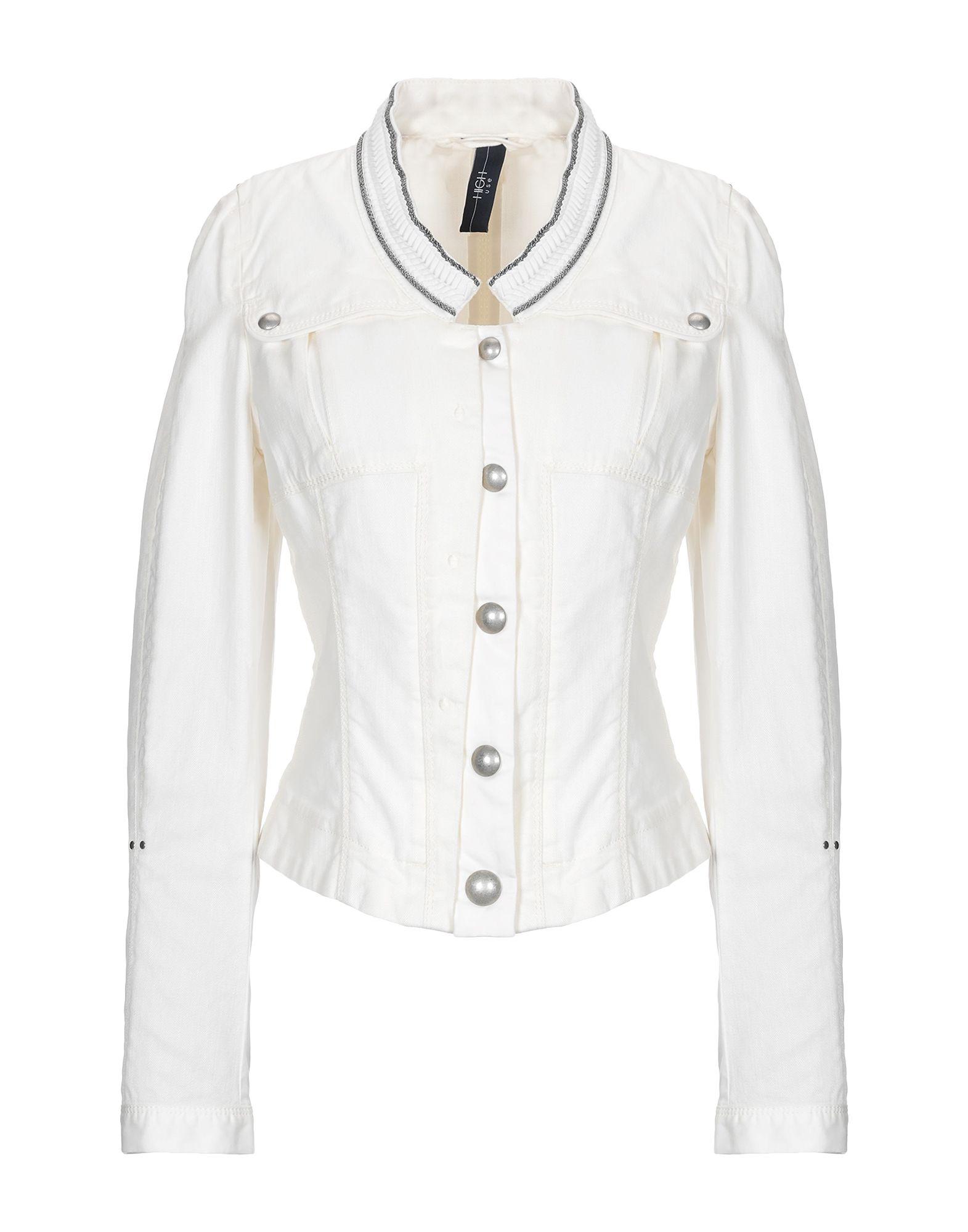 HIGH by CLAIRE CAMPBELL Джинсовая верхняя одежда high by claire campbell джинсовая юбка