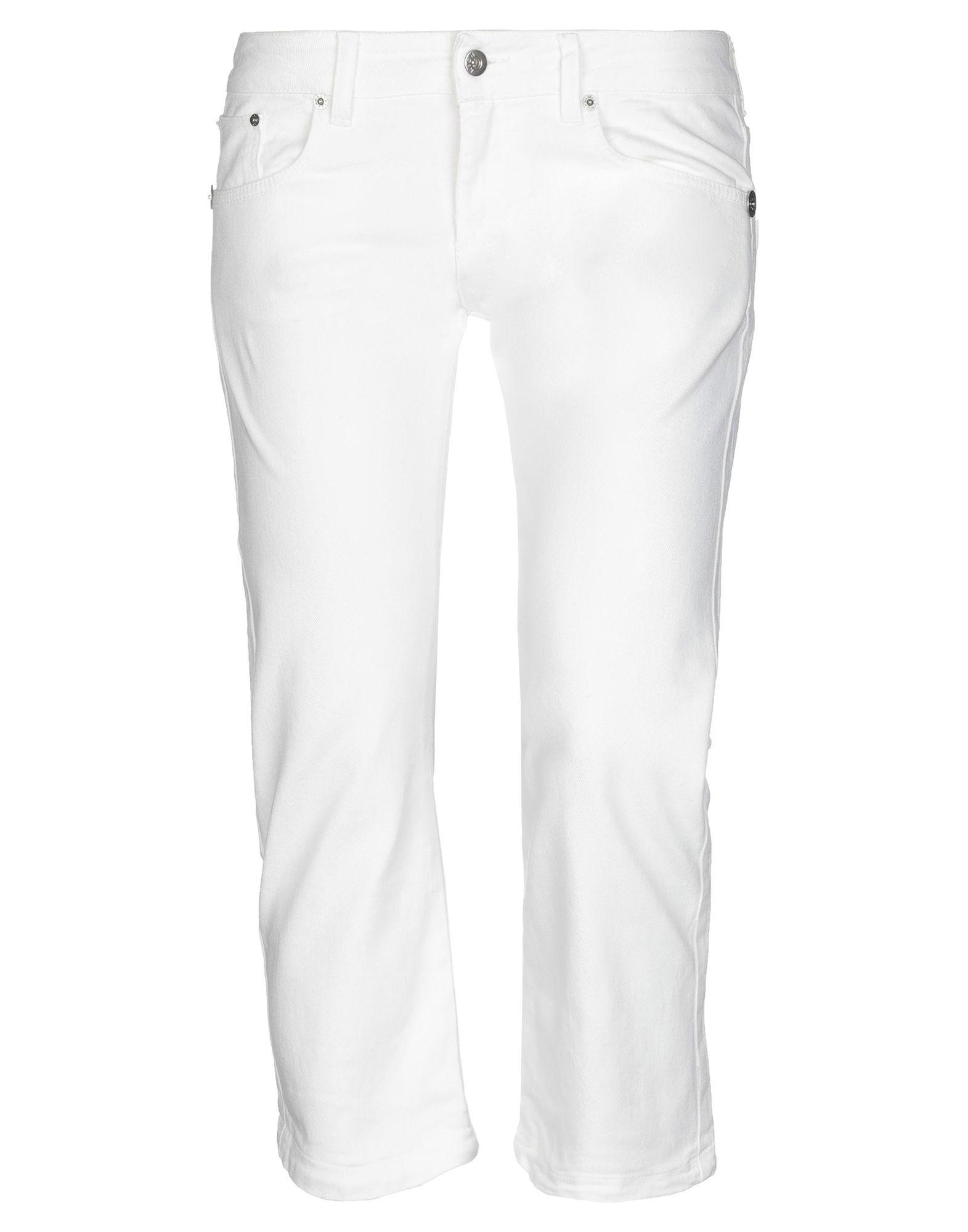 RICHMOND DENIM Джинсовые брюки-капри капри john richmond бриджи и капри укороченные