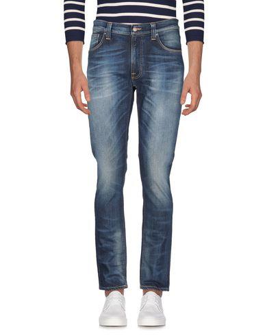 Фото 2 - Джинсовые брюки от NUDIE JEANS CO синего цвета