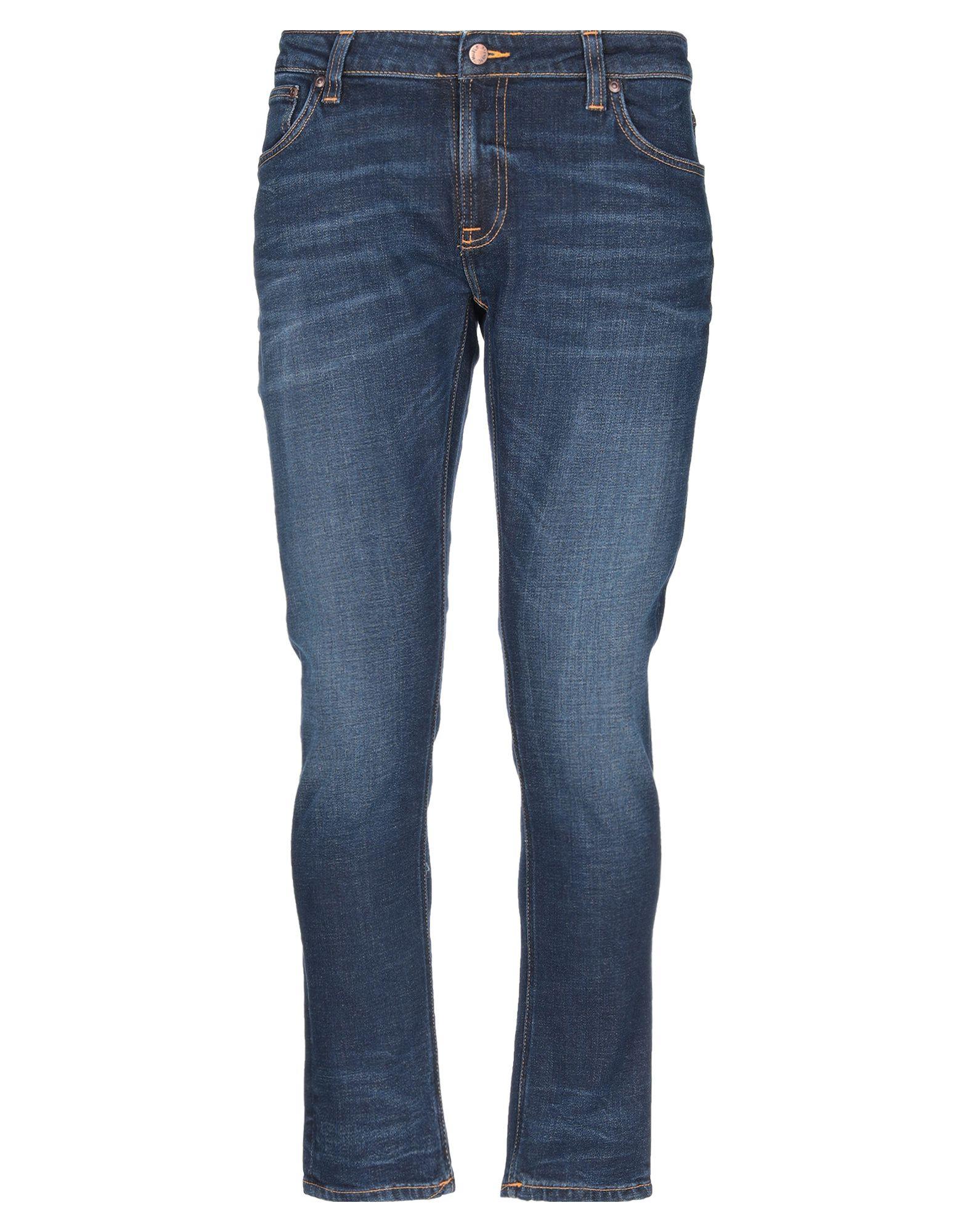NUDIE JEANS CO Джинсовые брюки цена
