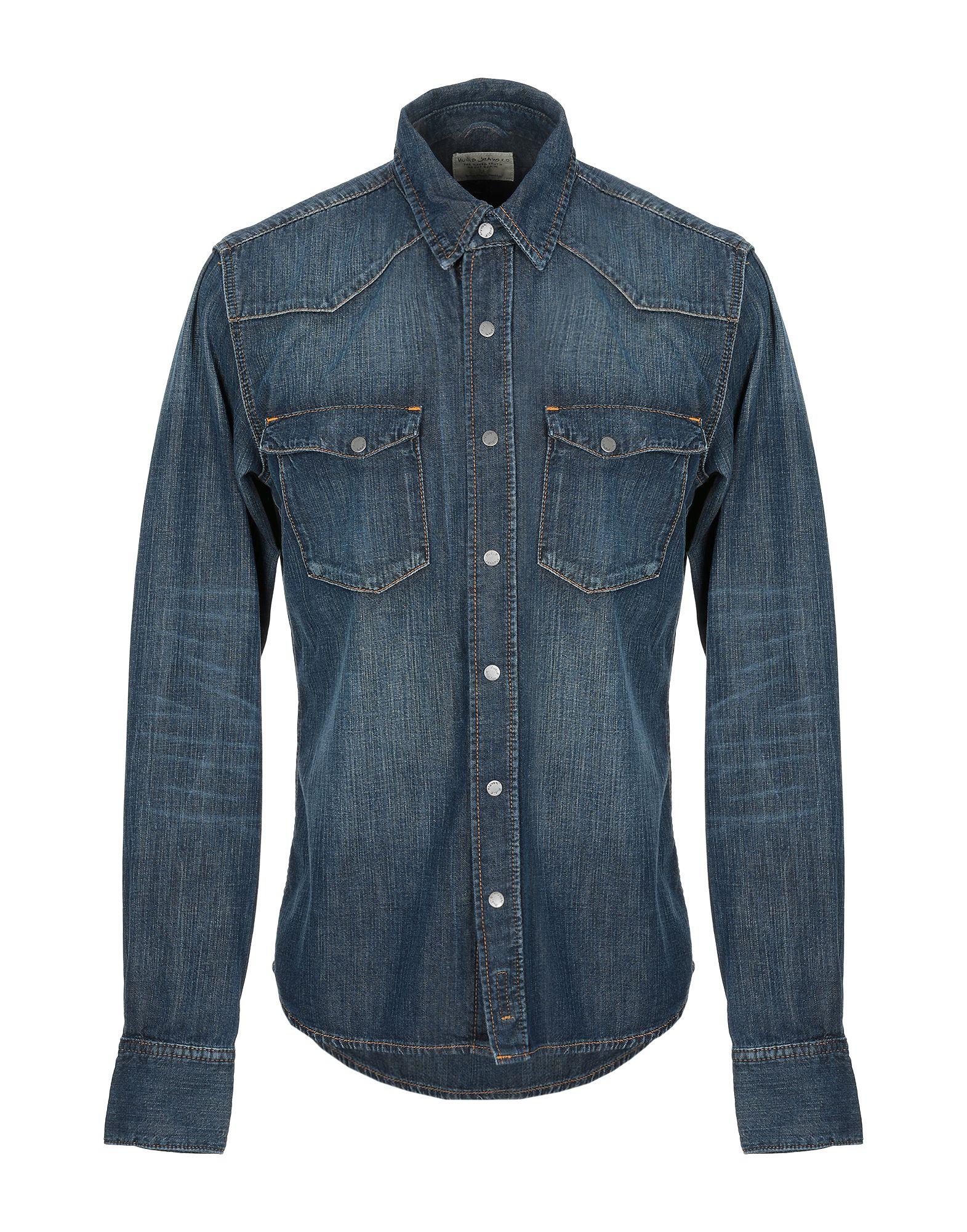 Nudie Jeans T-shirts Denim shirt