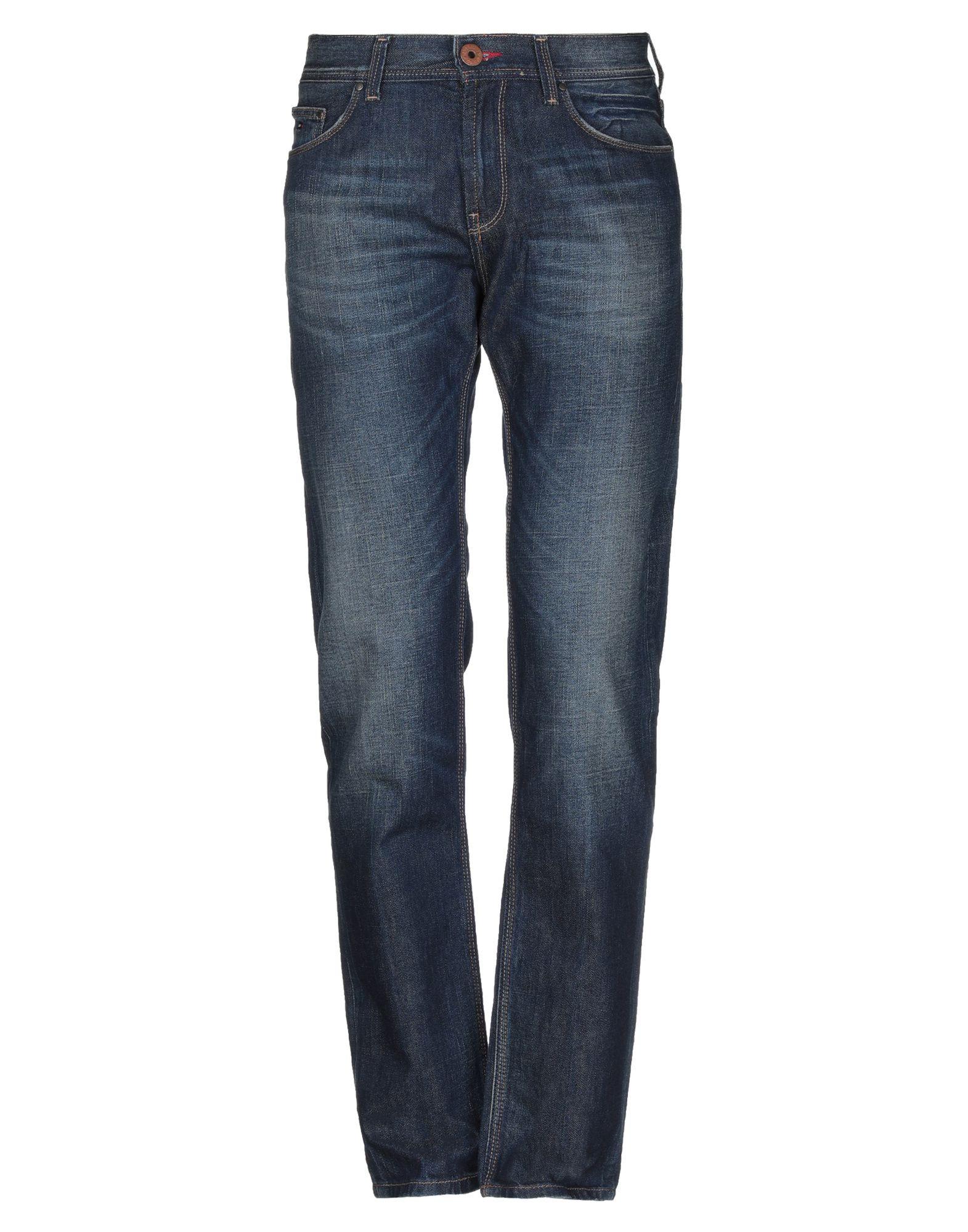 《セール開催中》TOMMY HILFIGER メンズ ジーンズ ブルー 31W-34L コットン 99% / ポリウレタン 1%