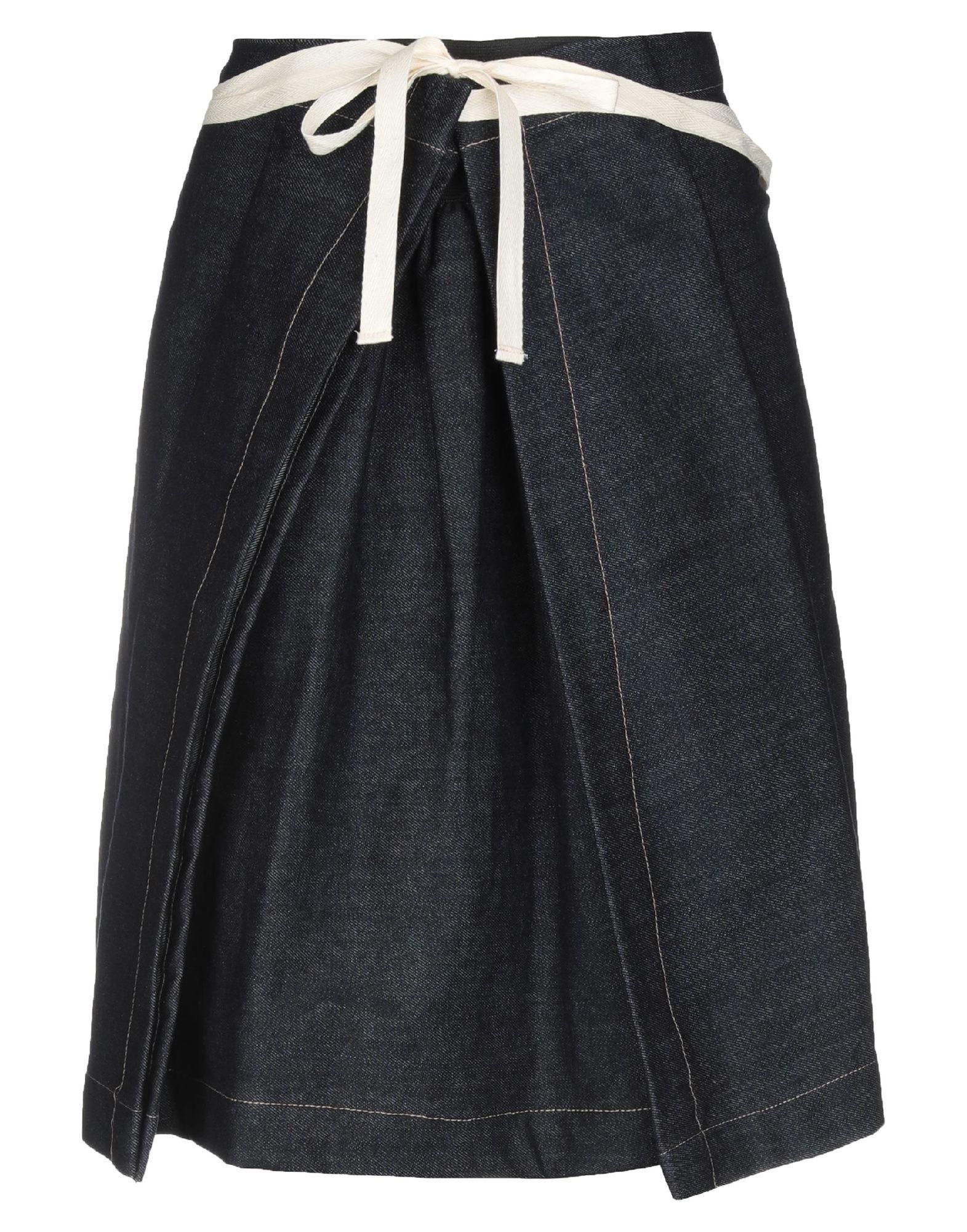 VIRGINIA BIZZI Джинсовая юбка vinemo vorneoco корейская версия высокой талии слот пакет юбка джинсовая юбка юбка юбка r1540 серый xl