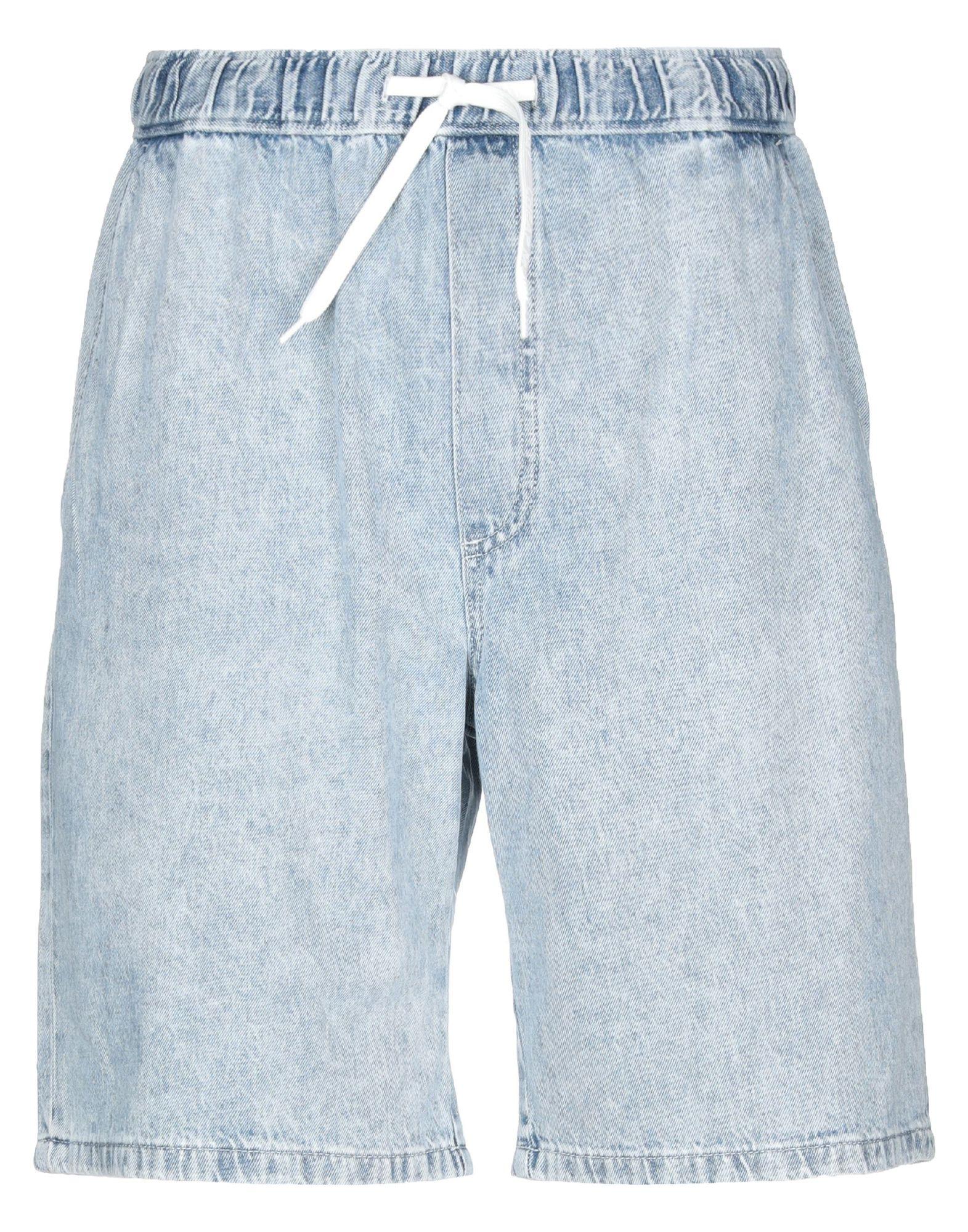 《期間限定セール中》CHEAP MONDAY メンズ デニムバミューダパンツ ブルー XS コットン 100%