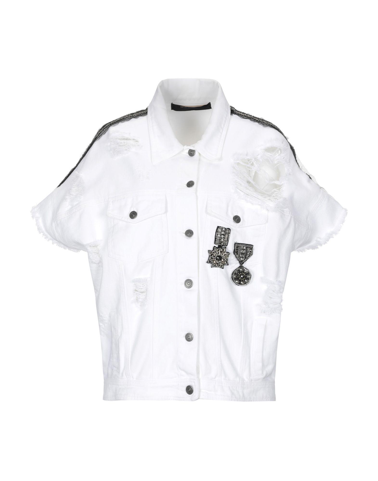 TRASH & LUXURY Джинсовая верхняя одежда