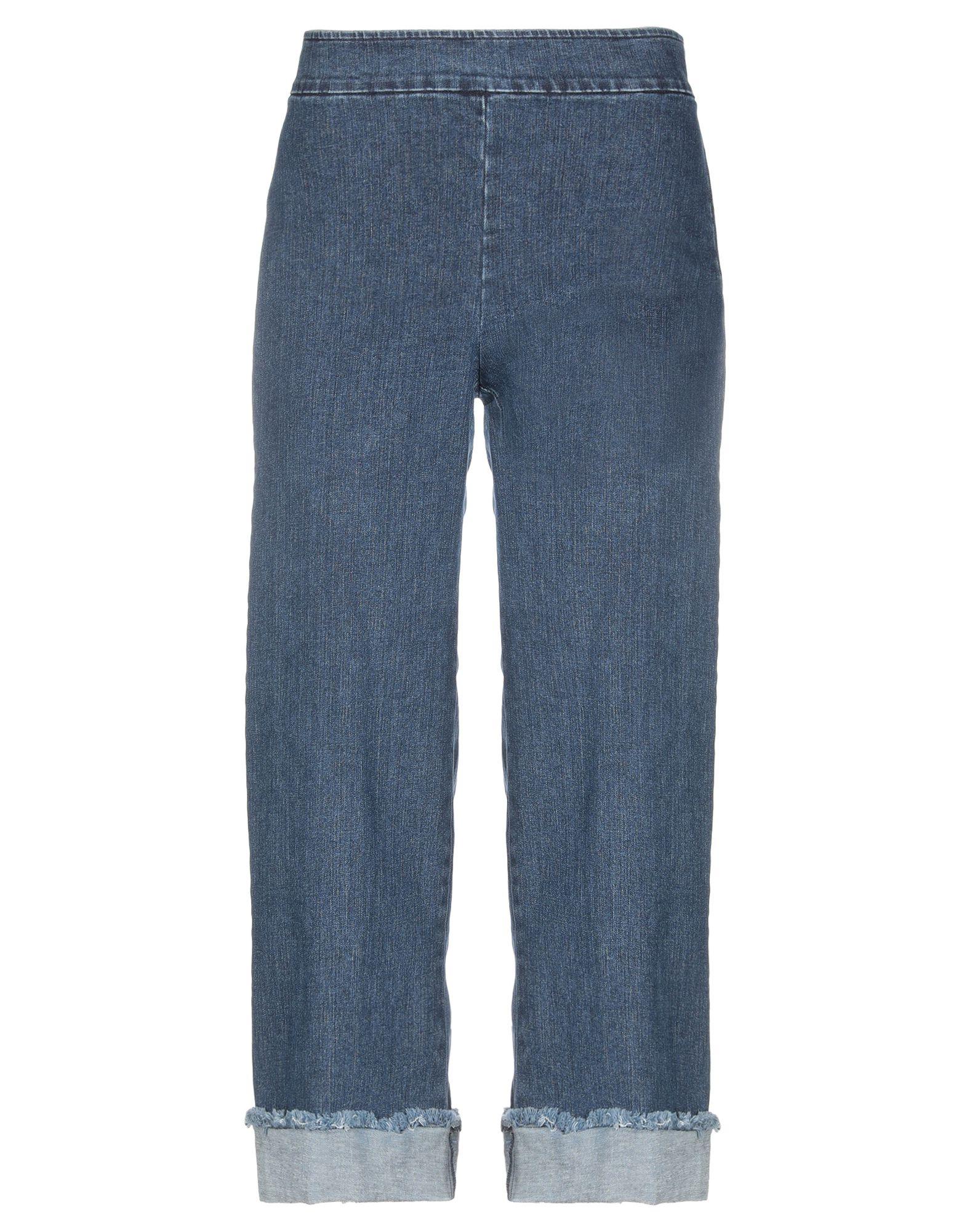 цены AVENUE MONTAIGNE Джинсовые брюки-капри