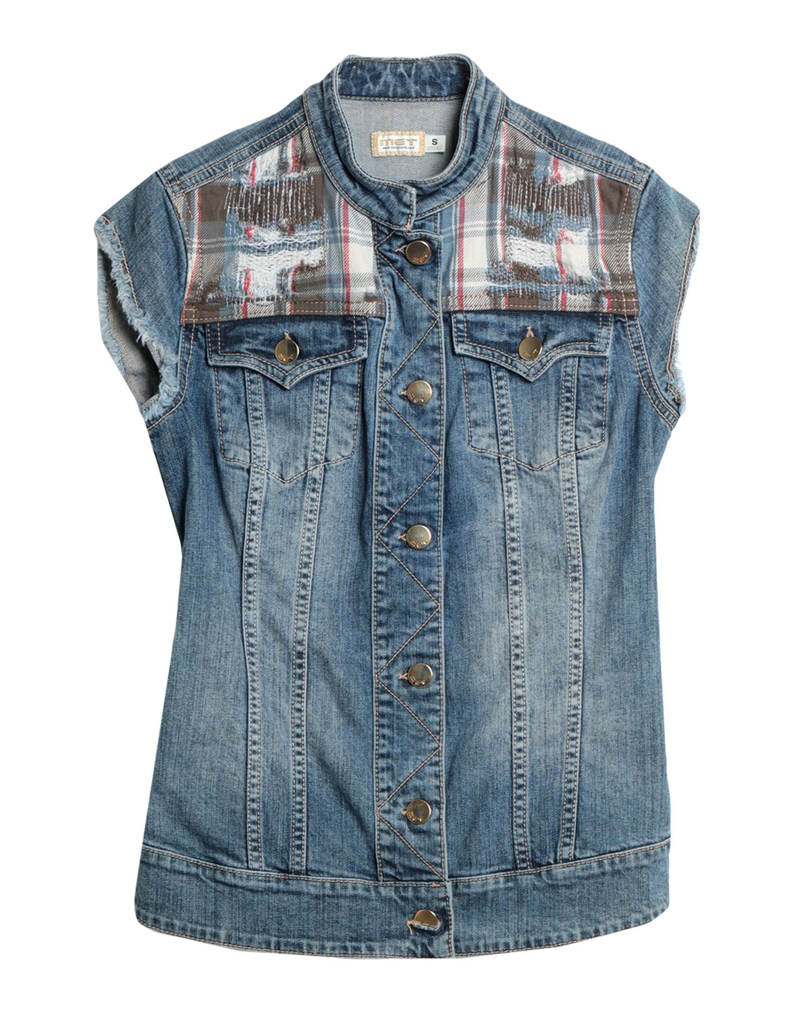 MET in JEANS Джинсовая верхняя одежда met джинсовая верхняя одежда