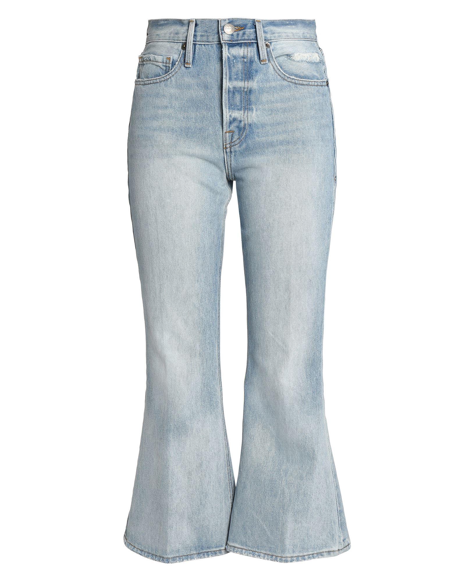 FRAME Джинсовые брюки-капри цена 2017