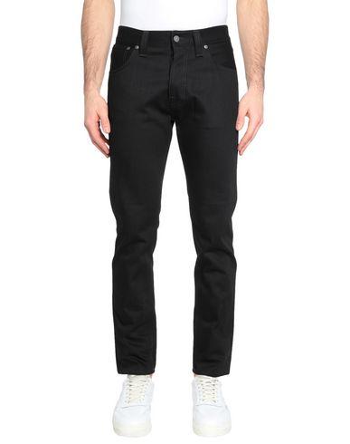 Фото - Джинсовые брюки от NUDIE JEANS CO черного цвета