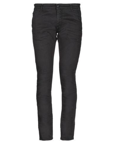 Купить Джинсовые брюки темно-коричневого цвета