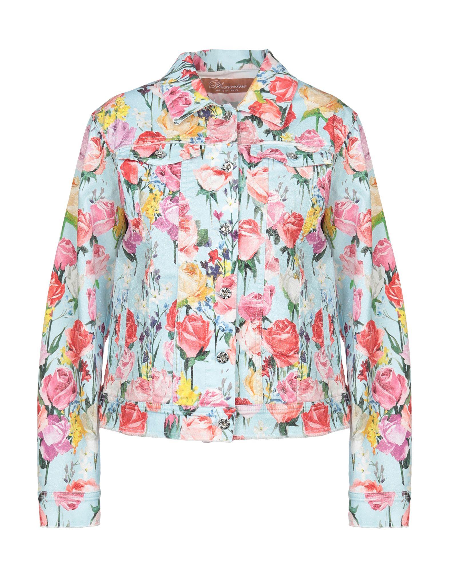 BLUMARINE Джинсовая верхняя одежда цена 2017