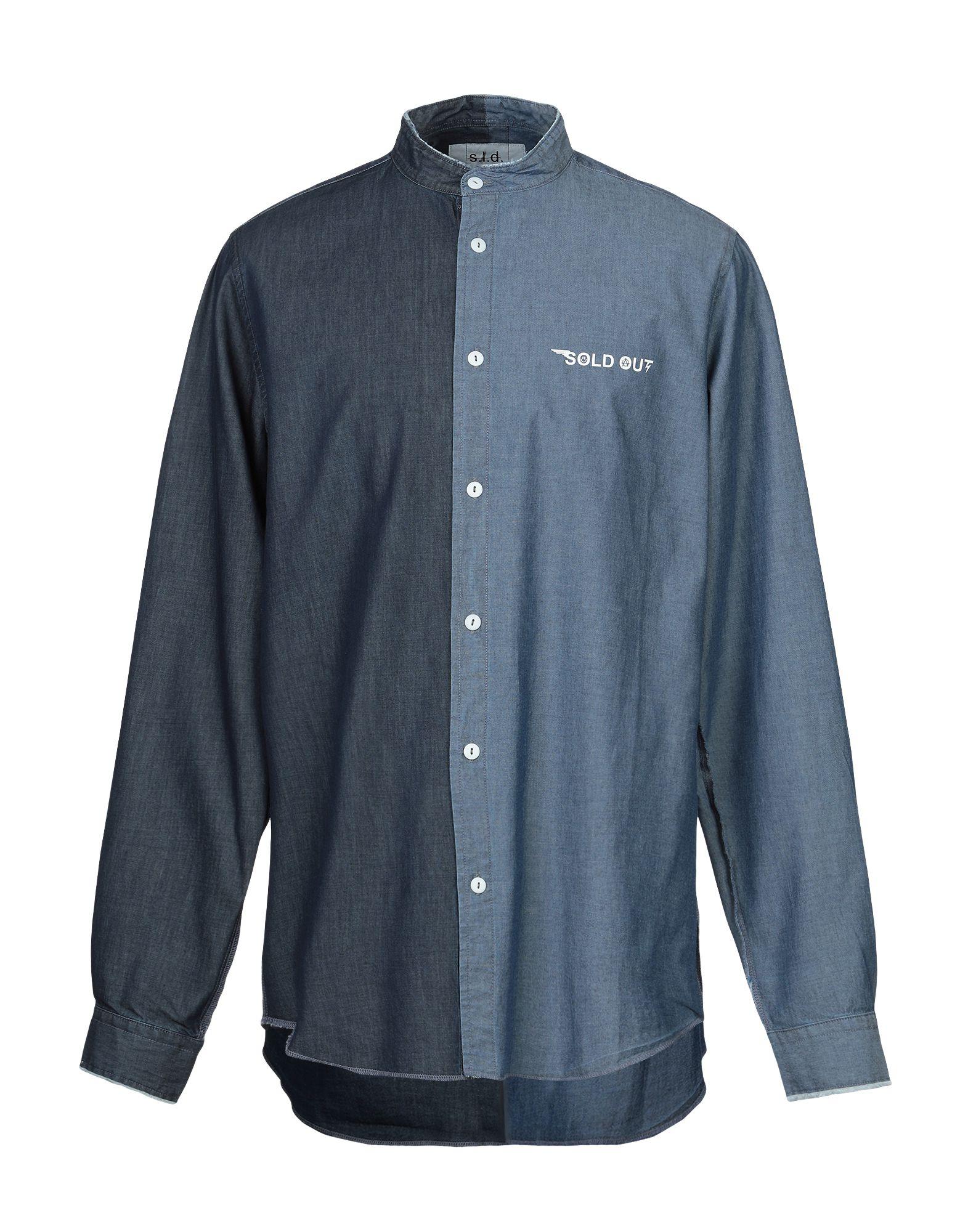 SOLD OUT Джинсовая рубашка sold