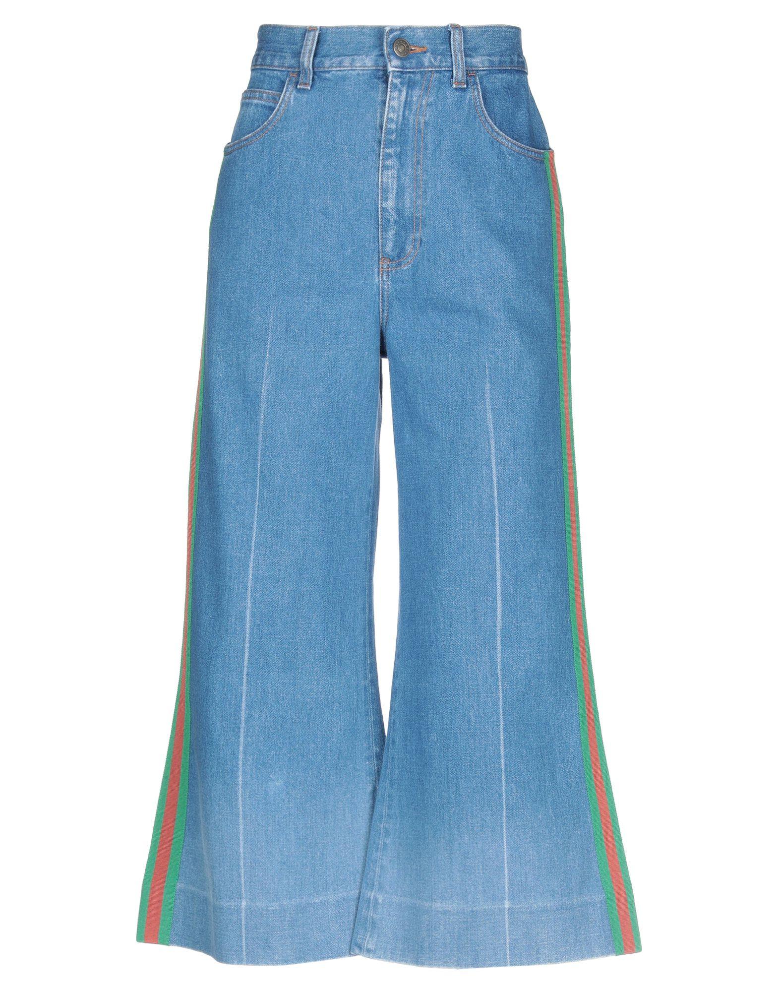 GUCCI Джинсовые брюки-капри