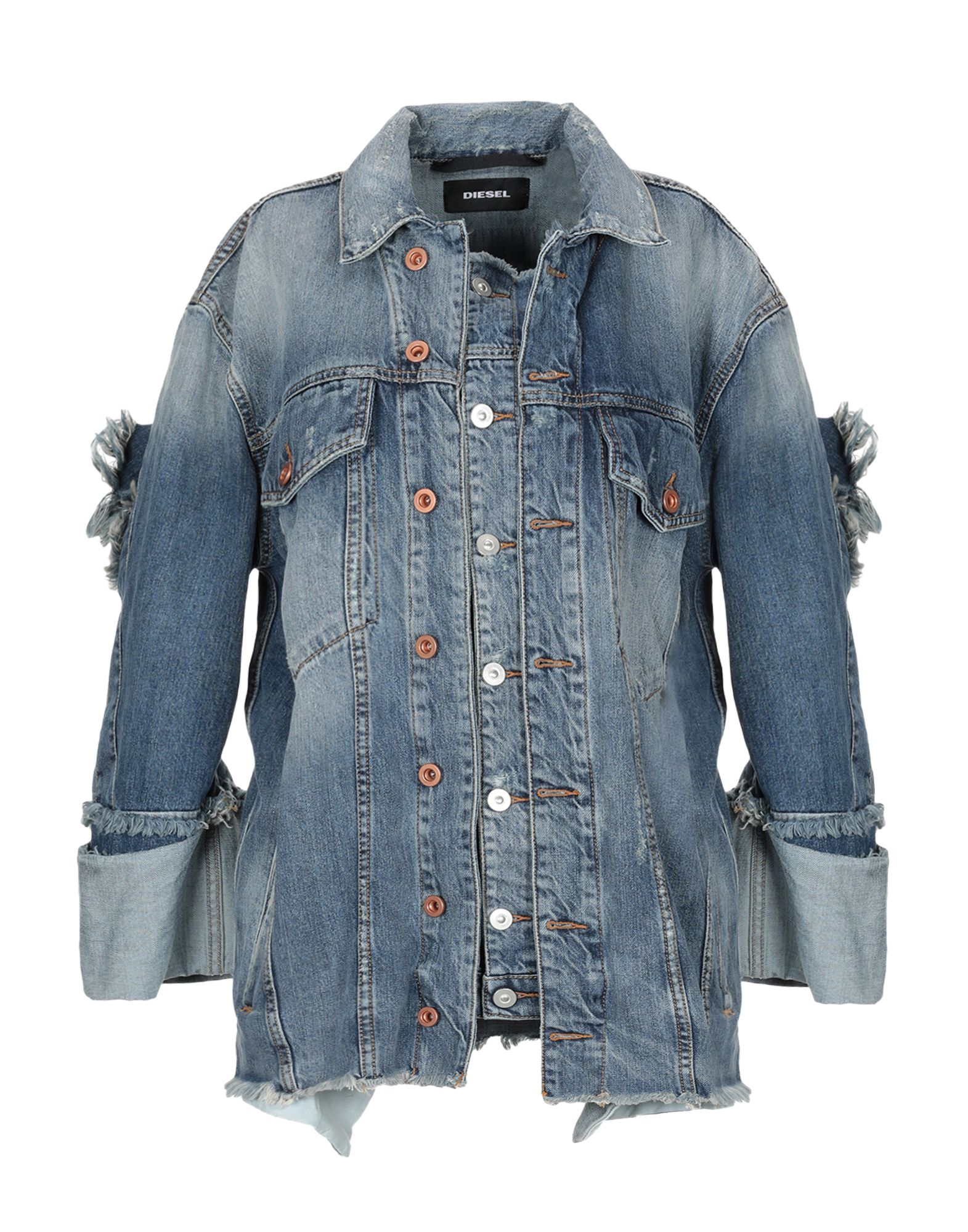 цена на DIESEL Джинсовая верхняя одежда