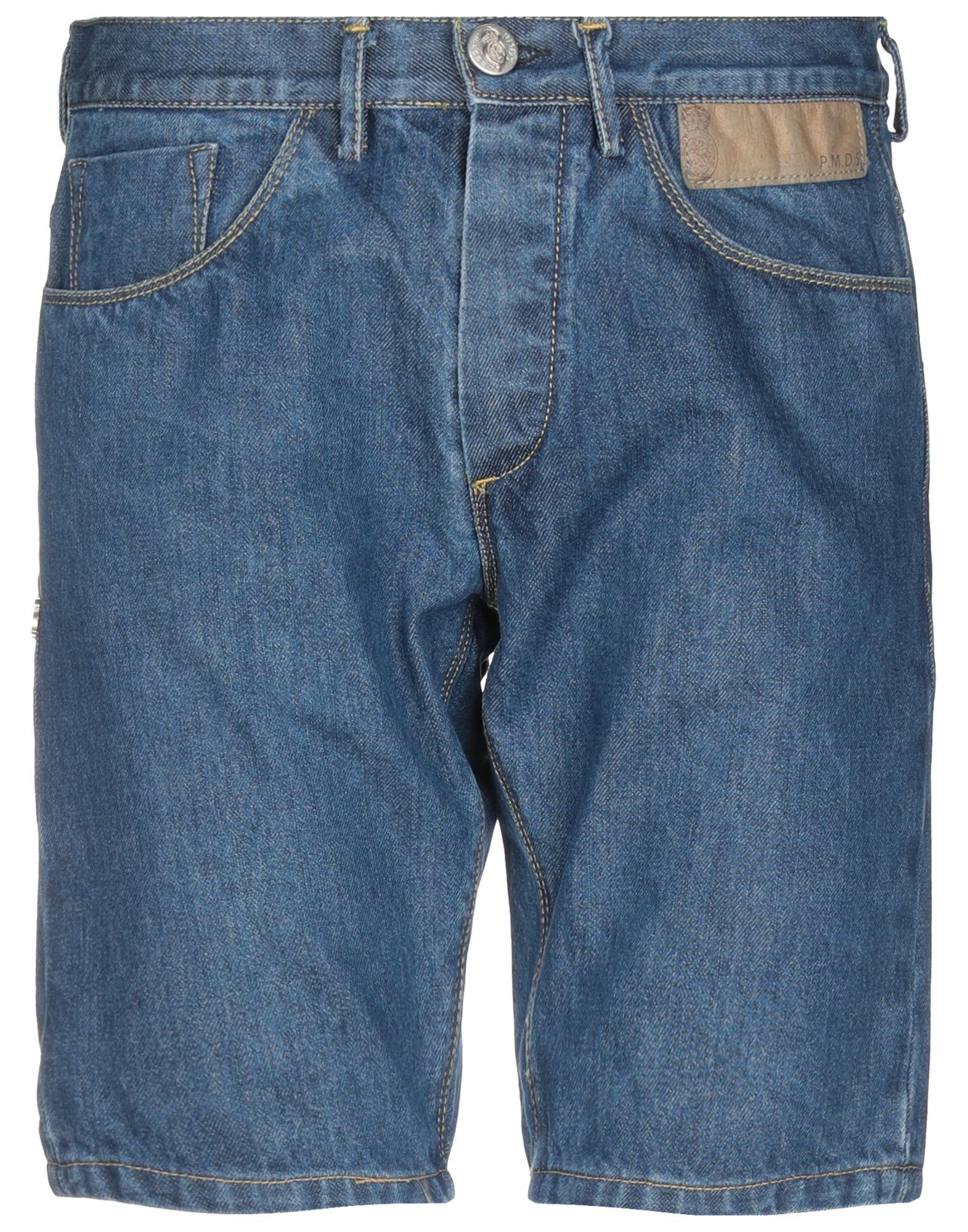 《期間限定セール中》PMDS PREMIUM MOOD DENIM SUPERIOR メンズ デニムバミューダパンツ ブルー 29 コットン 100%