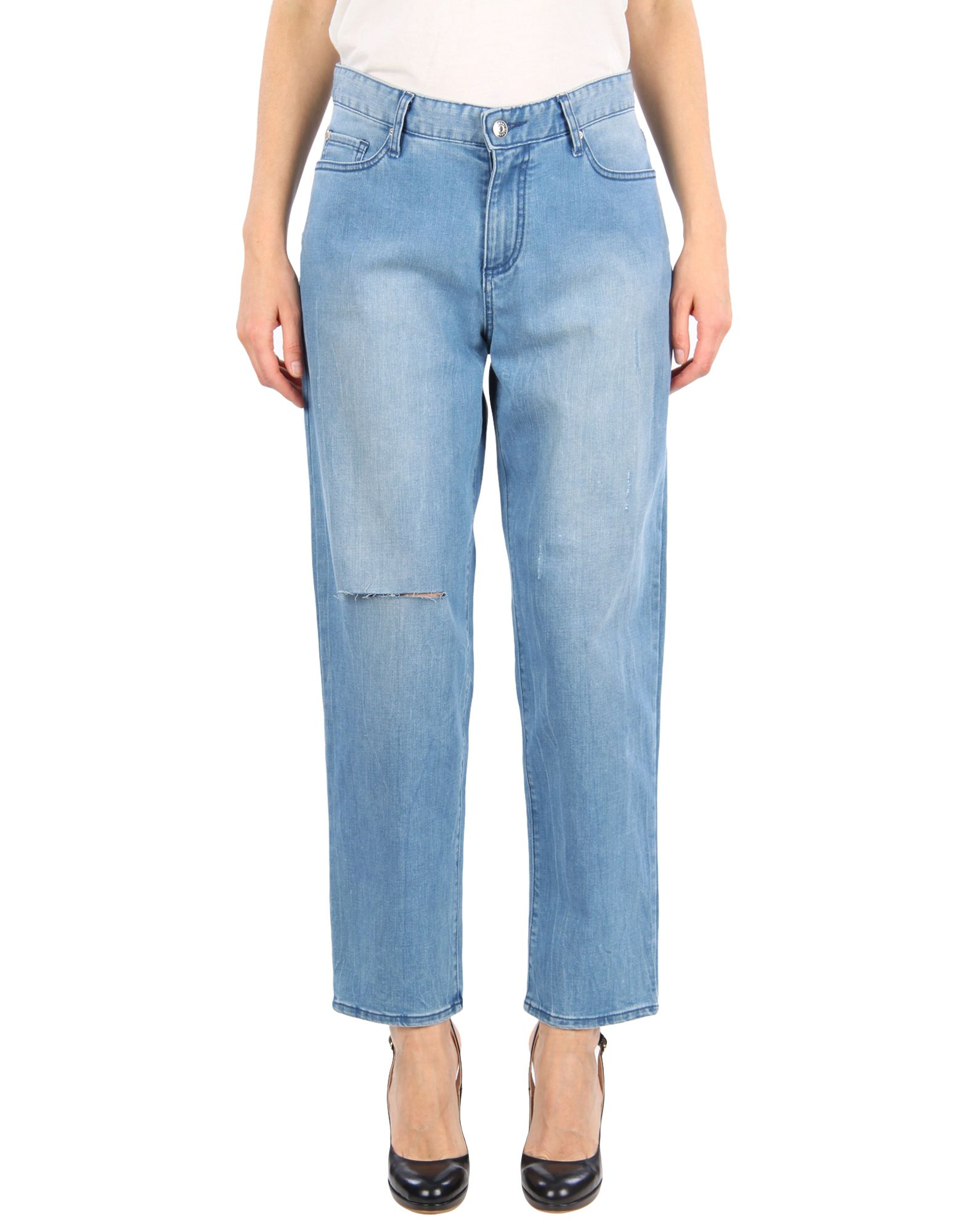ARMANI EXCHANGE Denim pants - Item 42724573