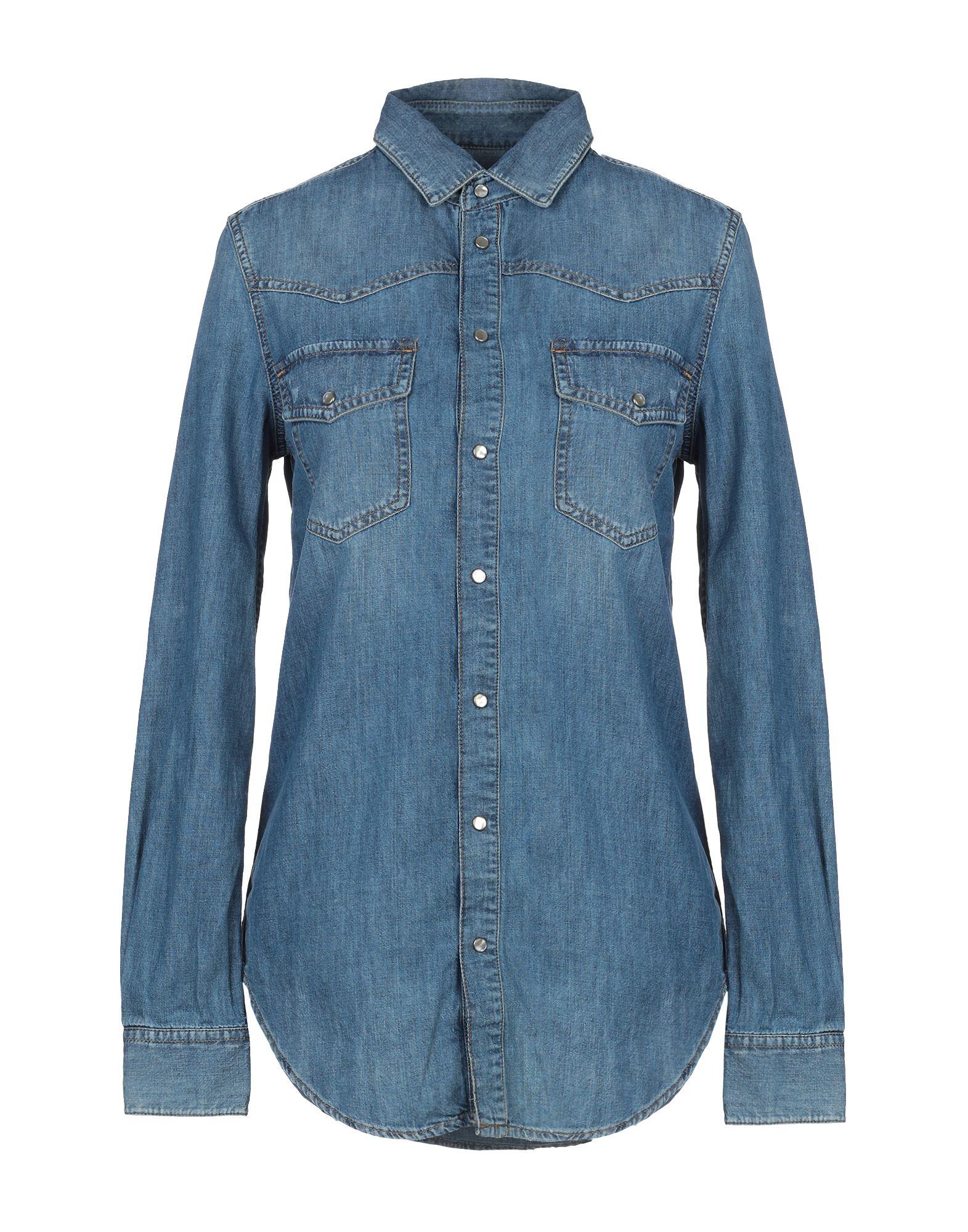 DIESEL Джинсовая рубашка burberry джинсовая рубашка