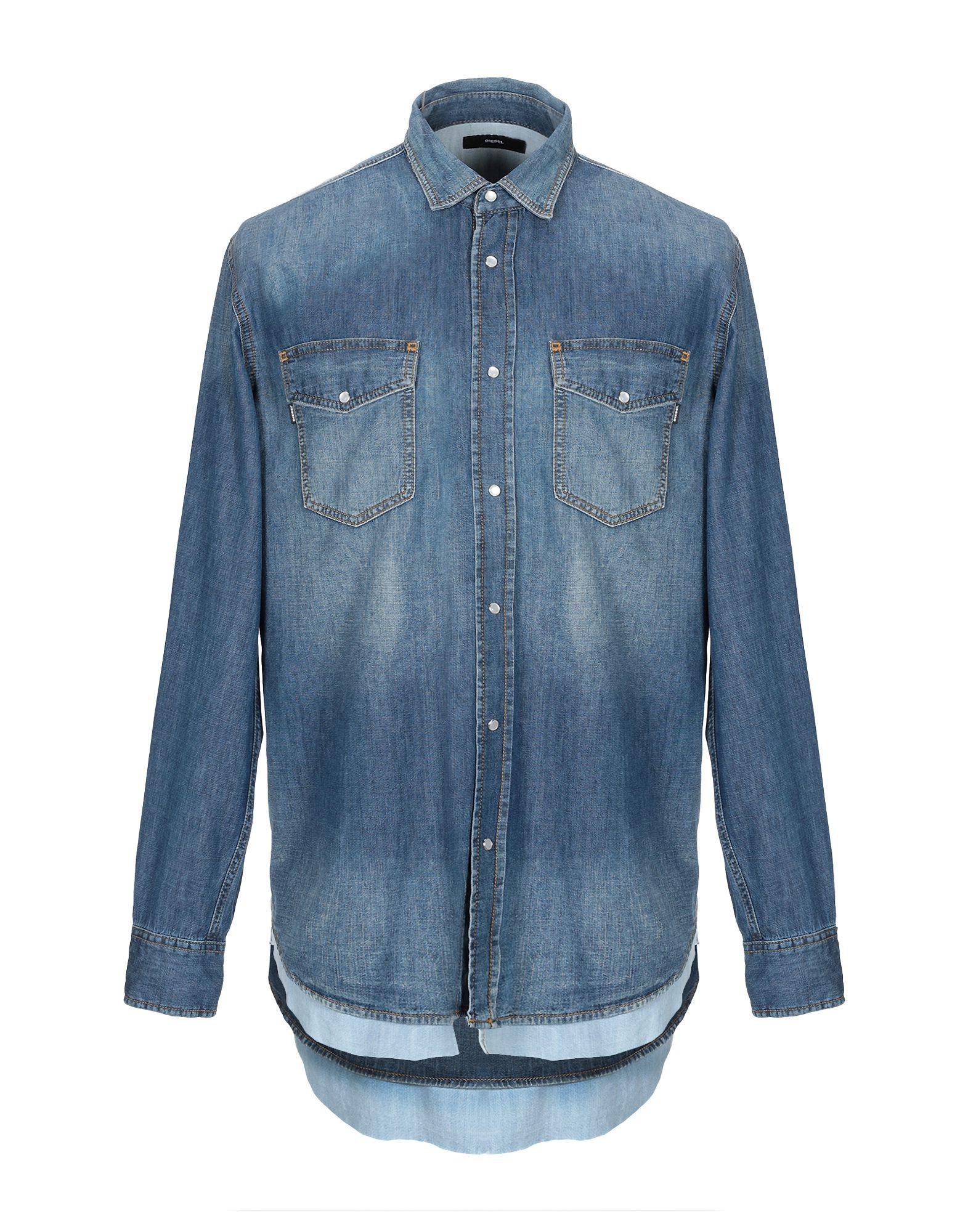 DIESEL Джинсовая рубашка рубашка джинсовая diesel diesel di303ewbekl2