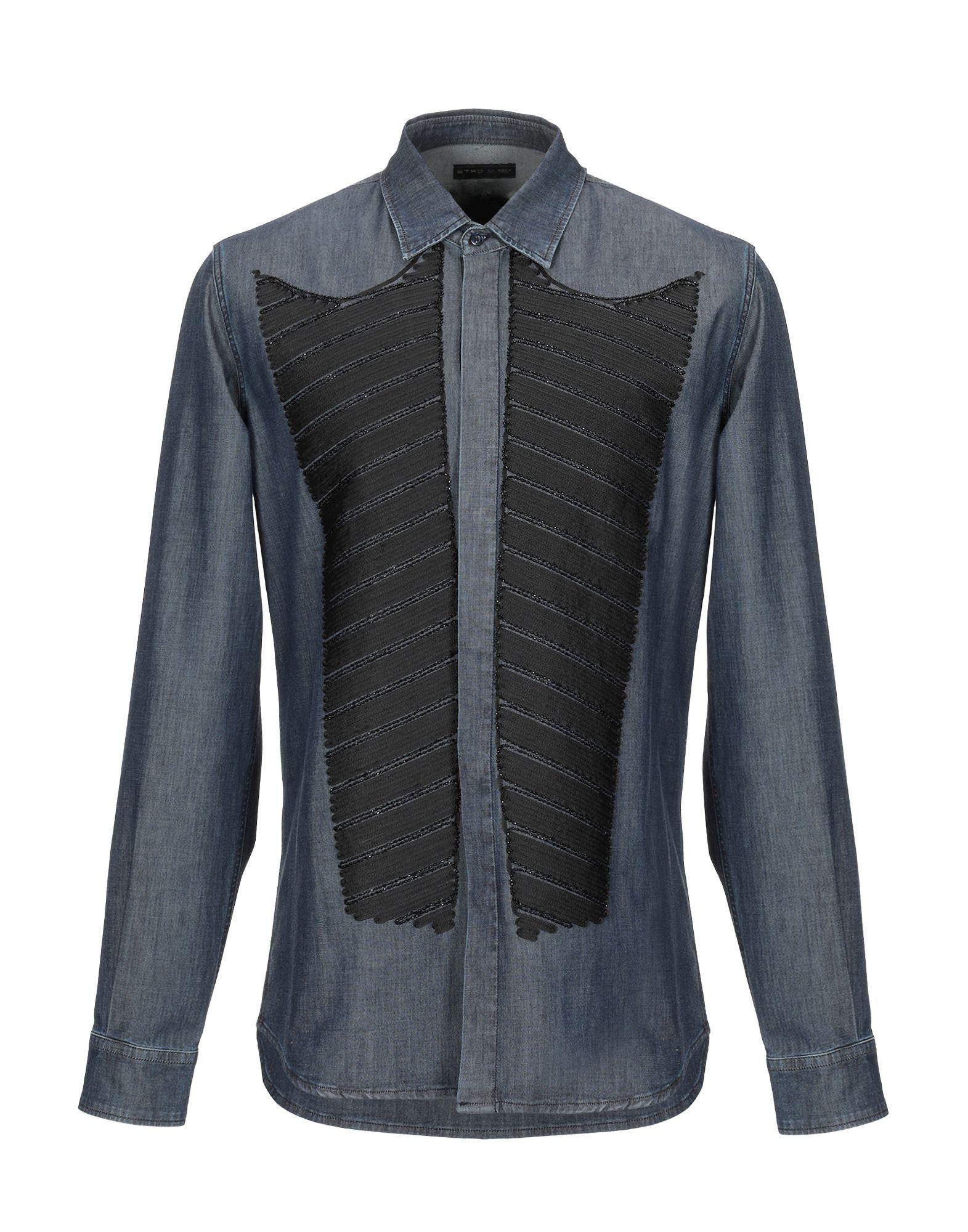 ETRO Джинсовая рубашка недорго, оригинальная цена
