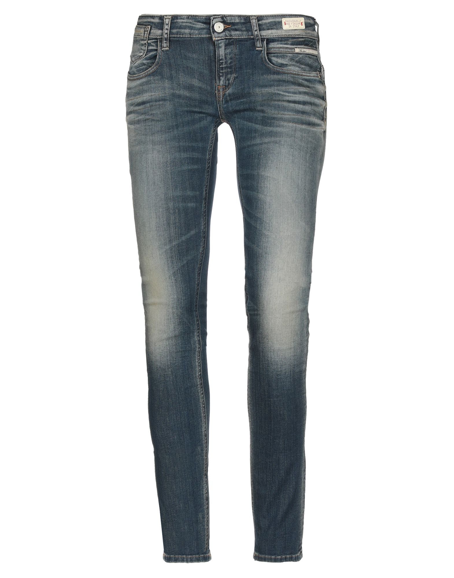 MAESTRO DENIM MANIFACTURE by REPLAY Джинсовые брюки недорго, оригинальная цена